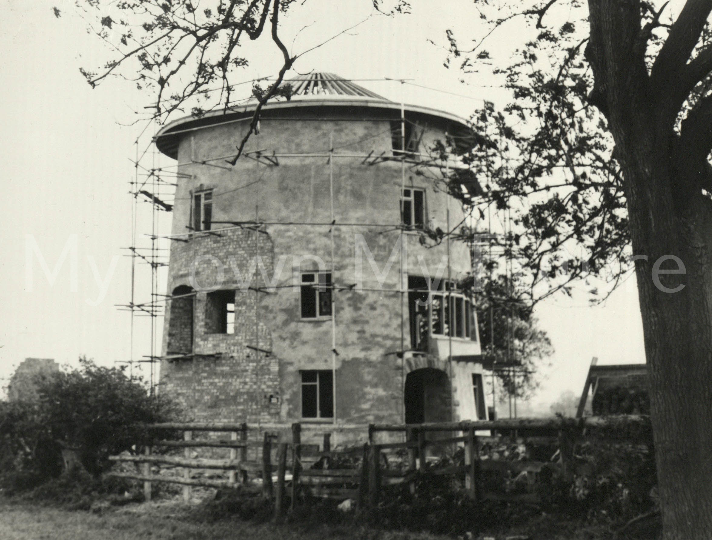 Sober Hall Windmill Near High Leven
