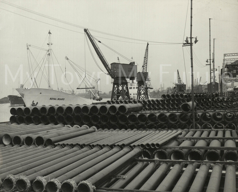 Cranes At Middlesbrough Dock