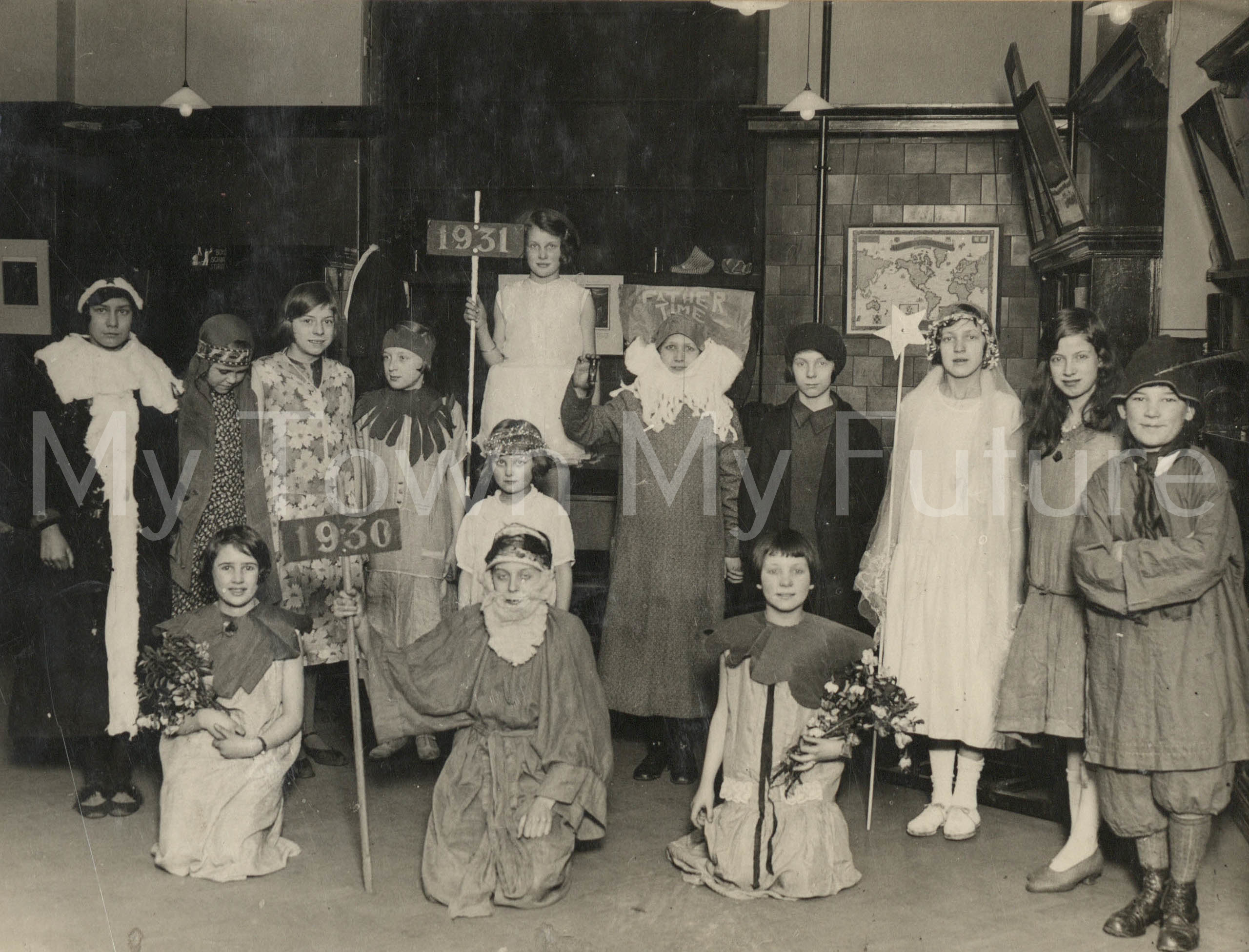 Central Library Story Hour Christmas and New Year 1930