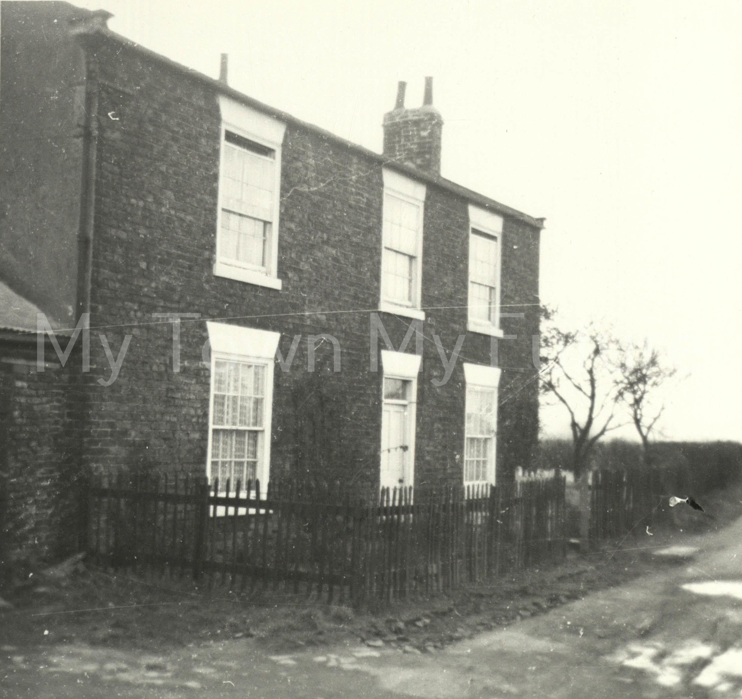 Newham Bridge Farm Acklam, March 1964