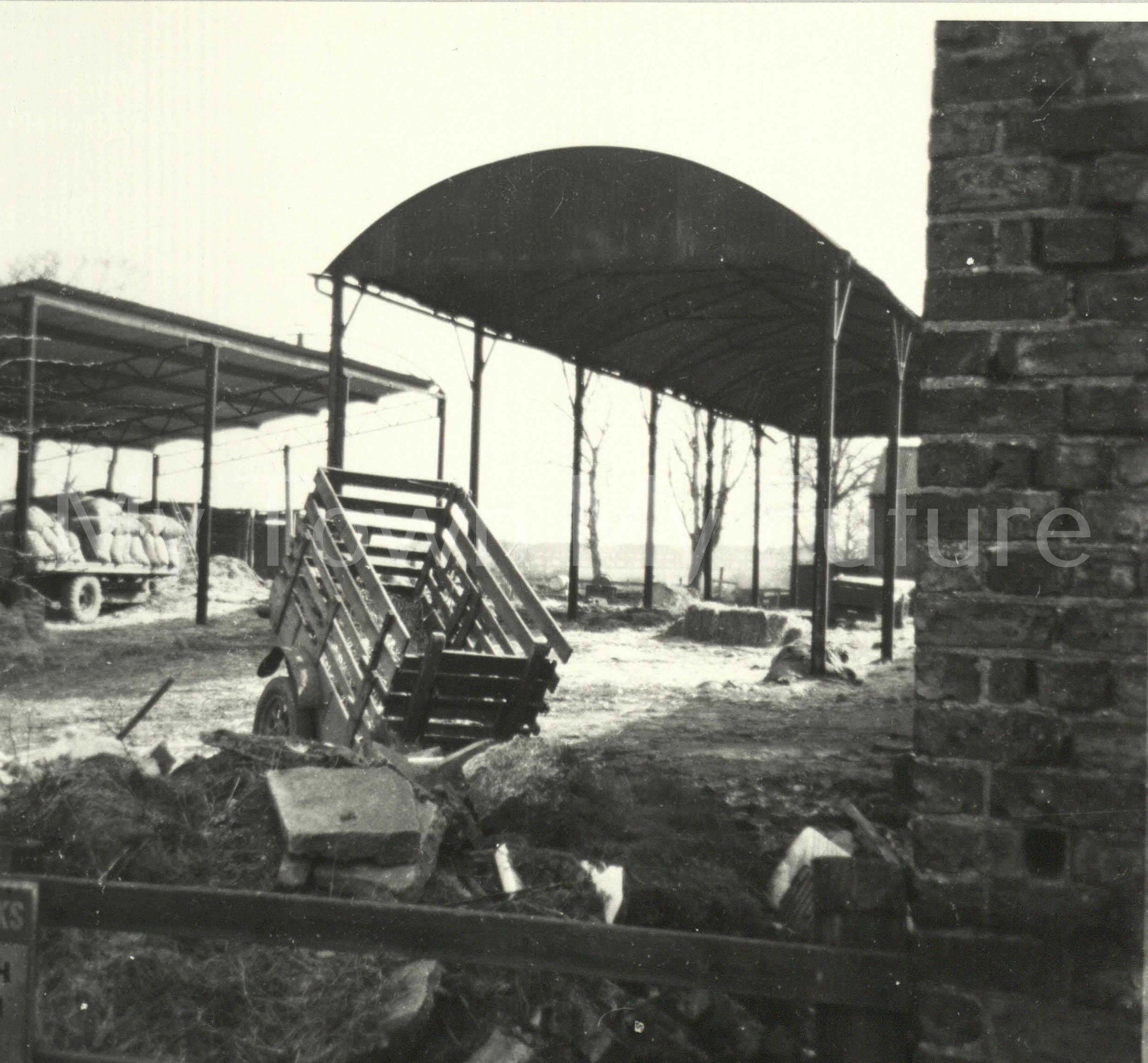 Newham Bridge Farm Acklam, March 1960