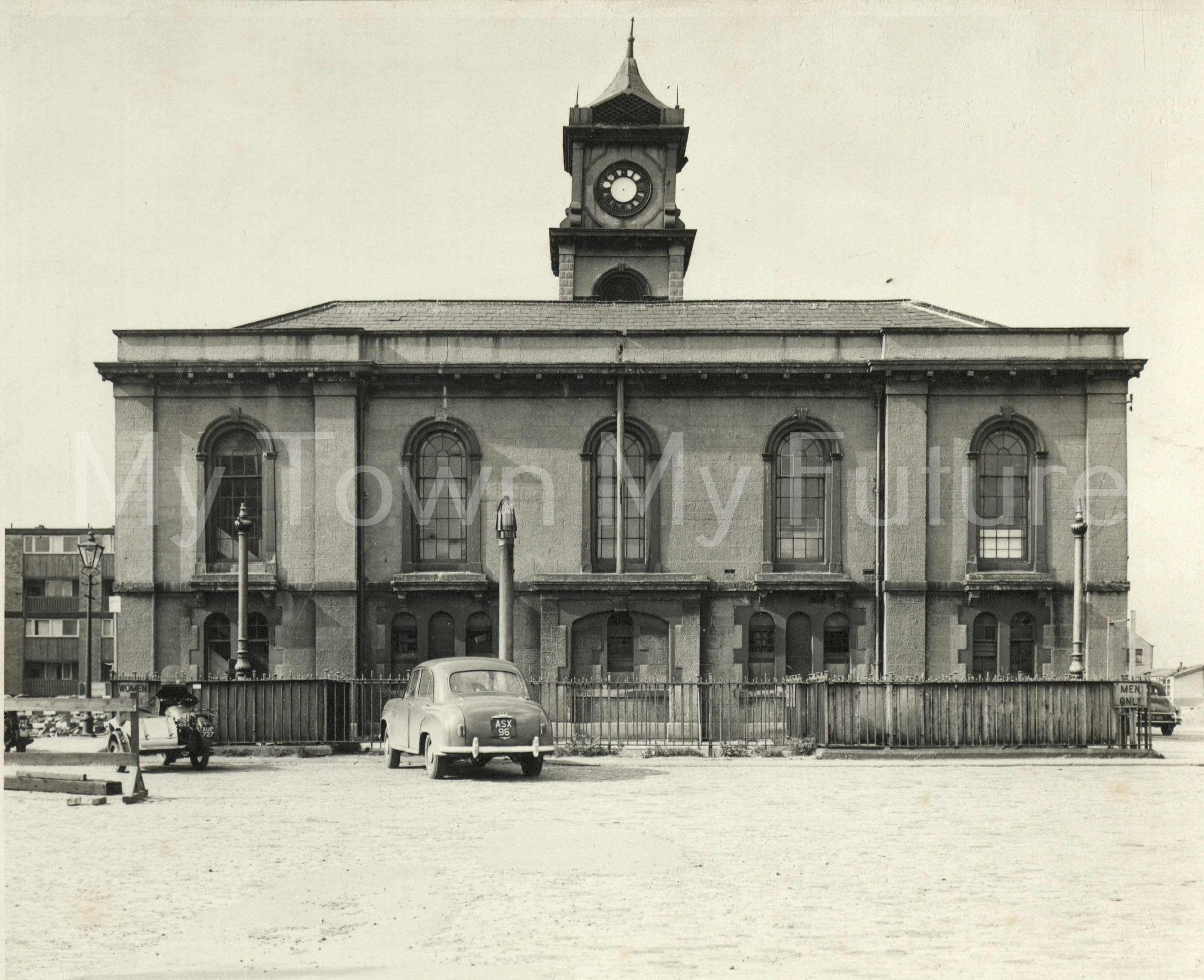 Old Town Hall (Building completed September 1846 March 1962