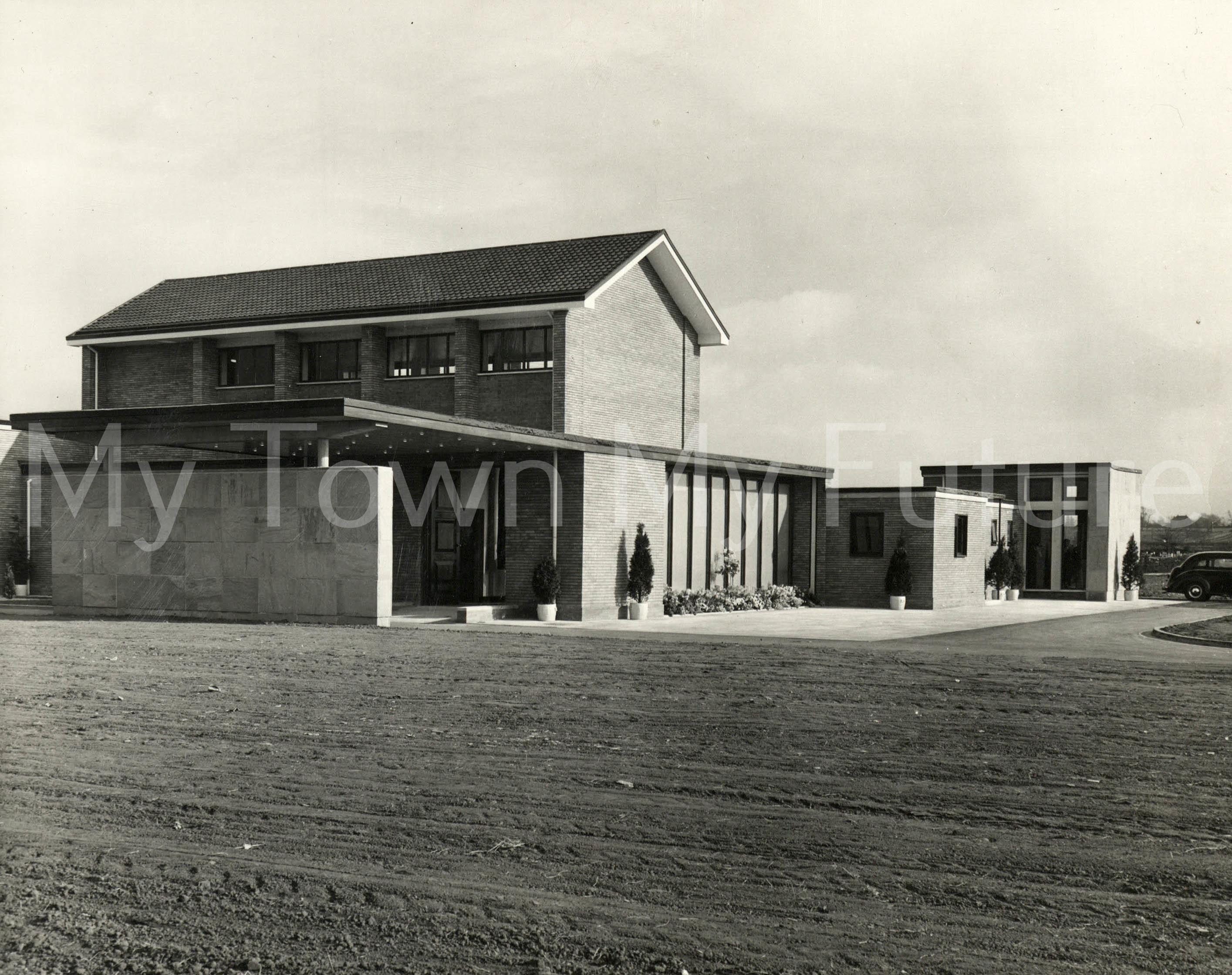 Middlesbrough Crematorium, 1961, Borough Engineers Department