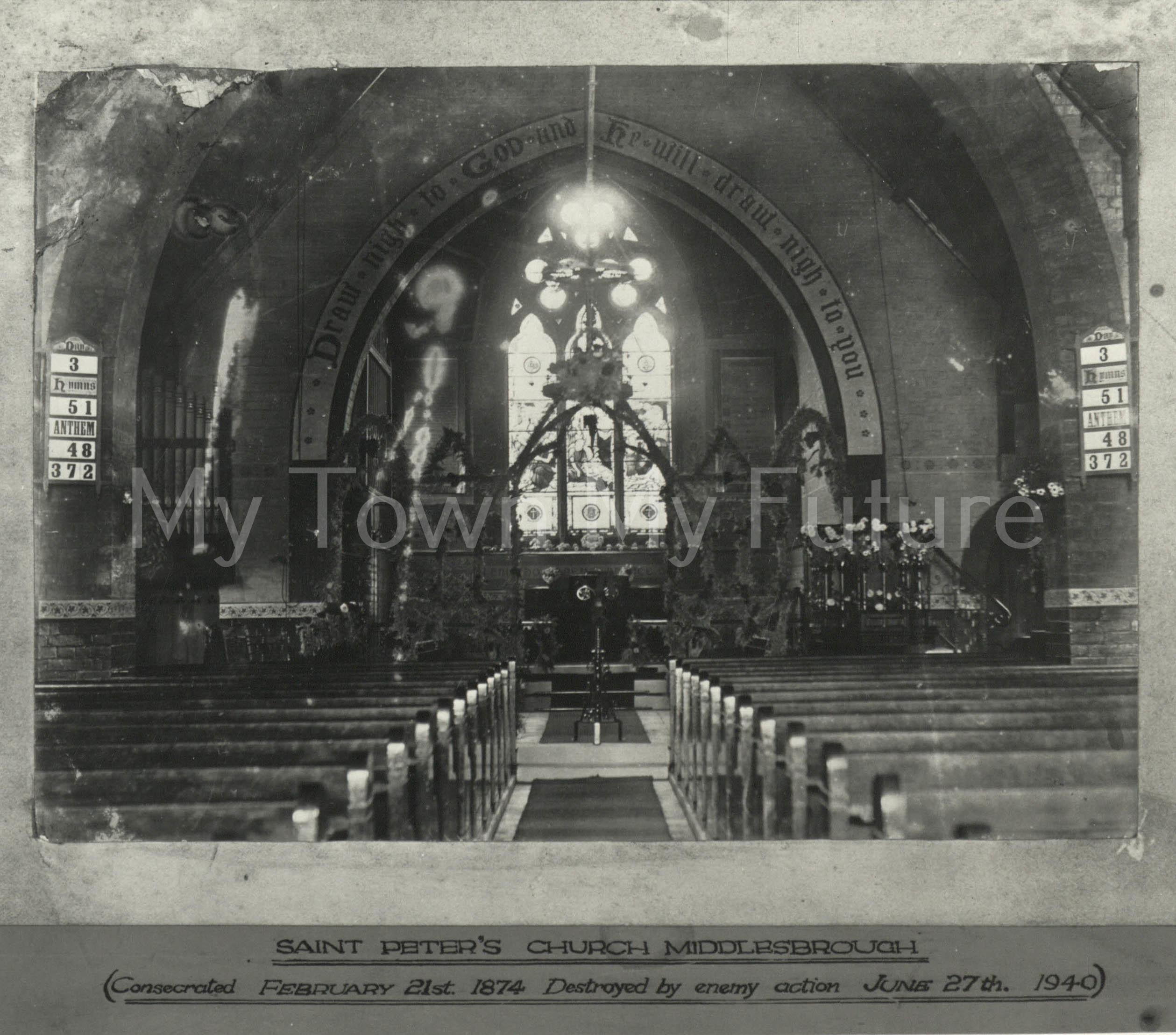St Peter's Church, 1940