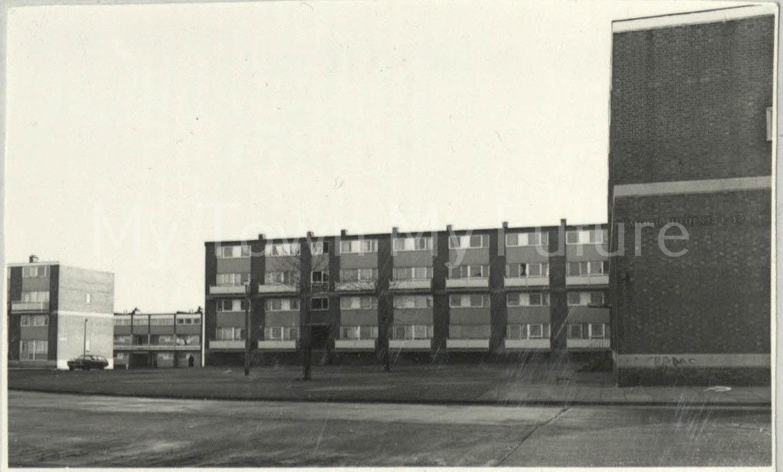 St Hilda's Flats.