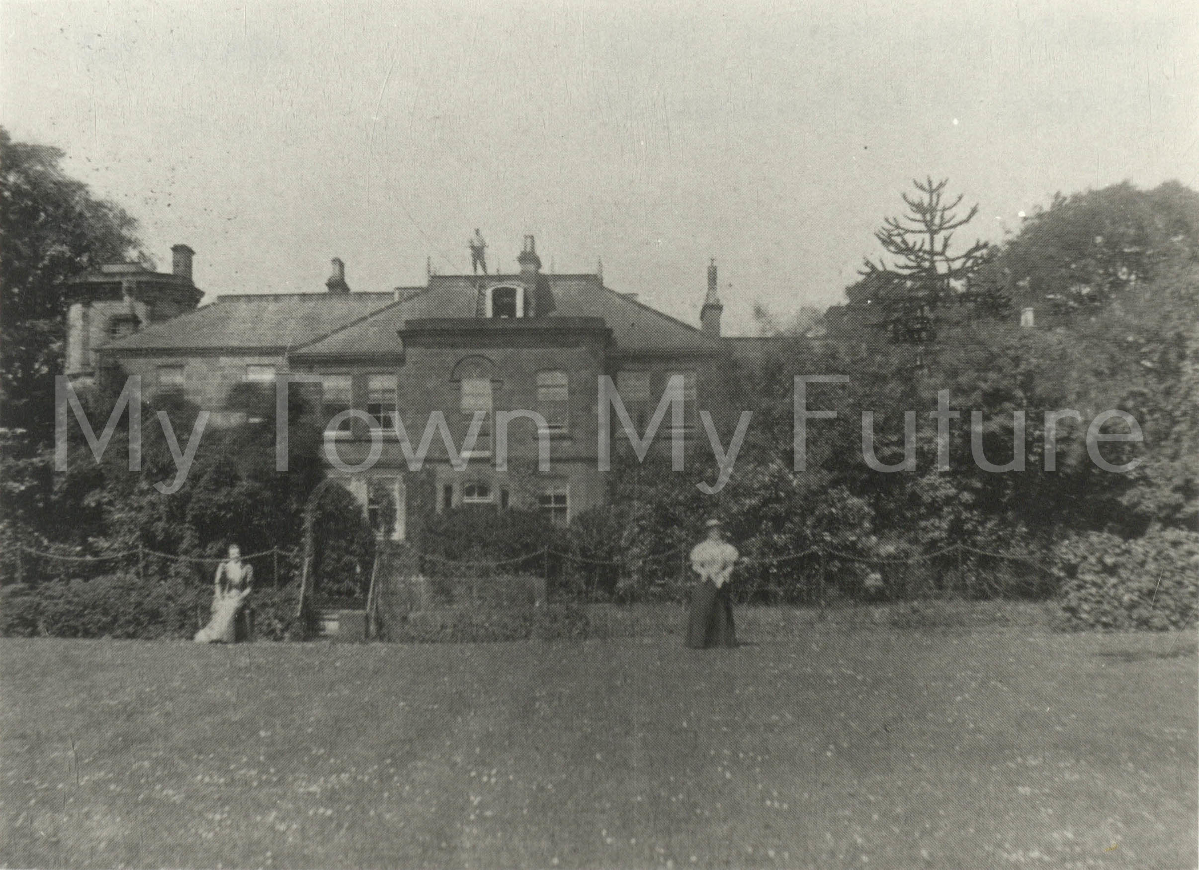 Tollesby Hall residence Of EB Emmerson JP 1903