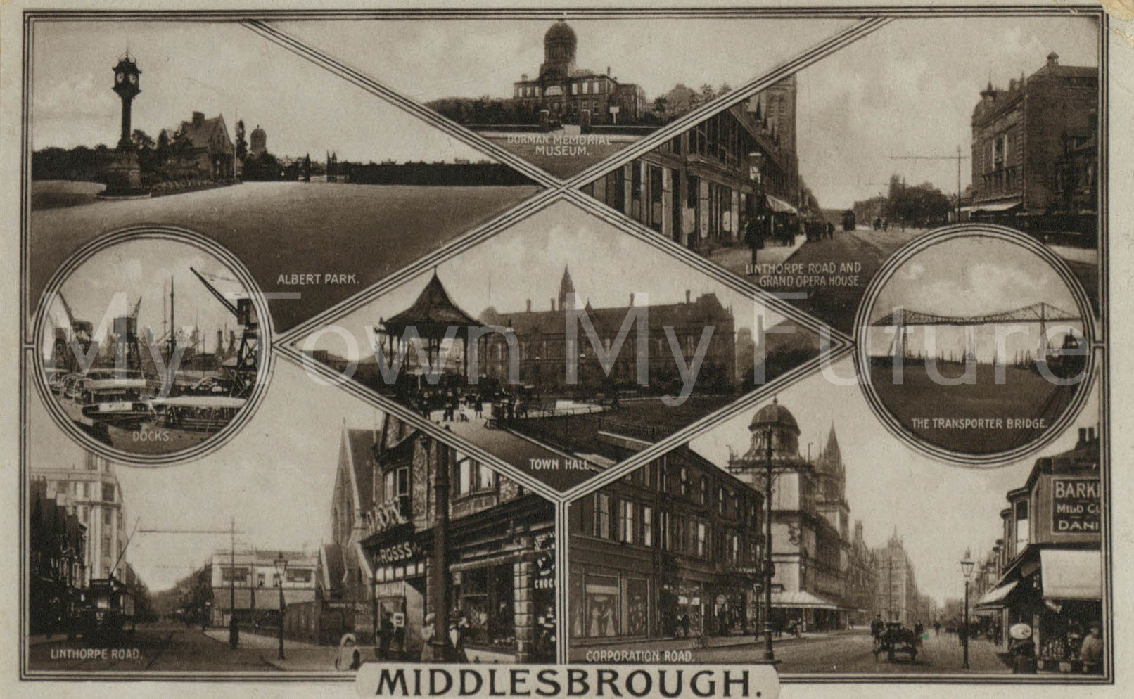 Middlesbrough, T Campling