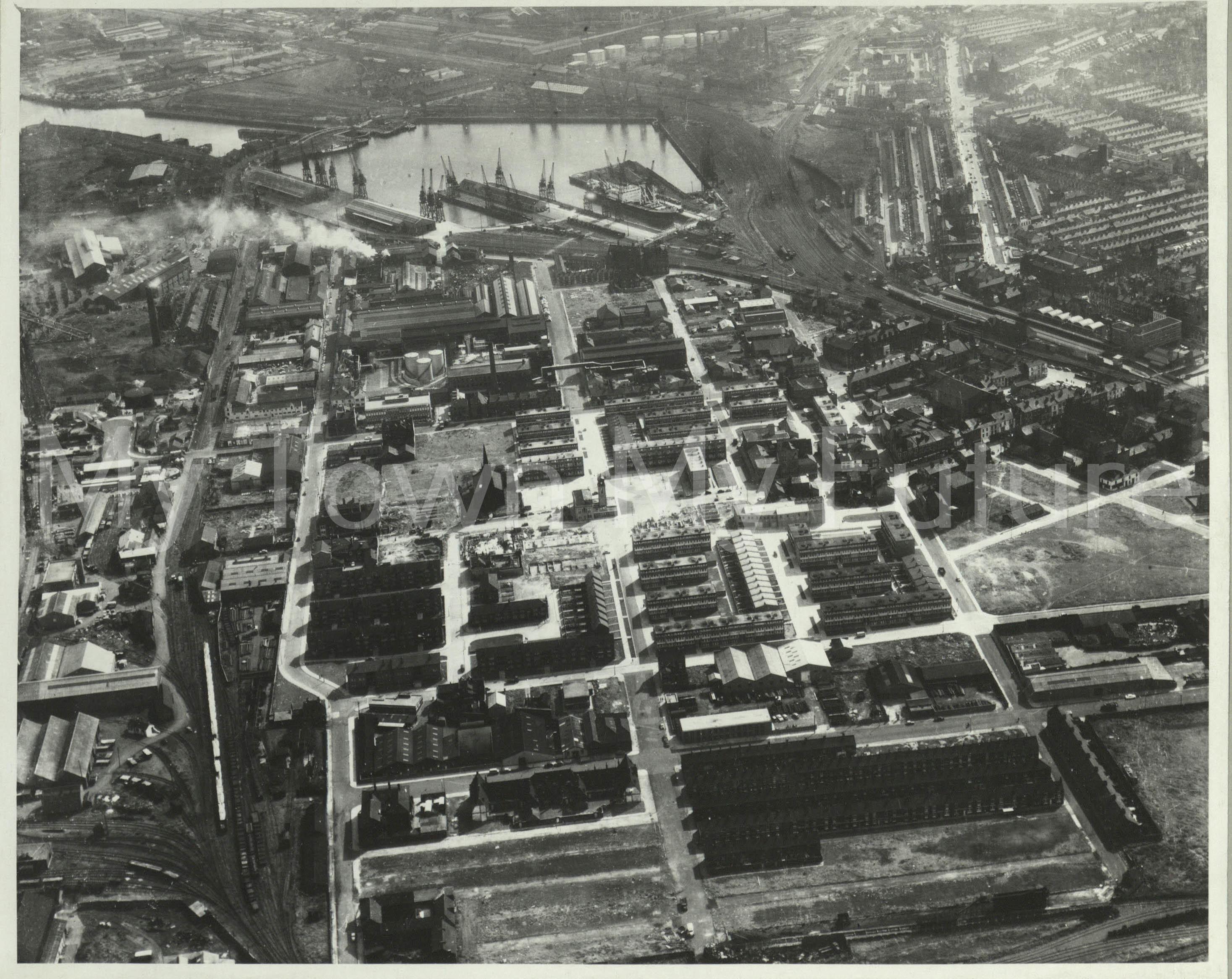 Middlesbrough St Hilda's & Docks 1963