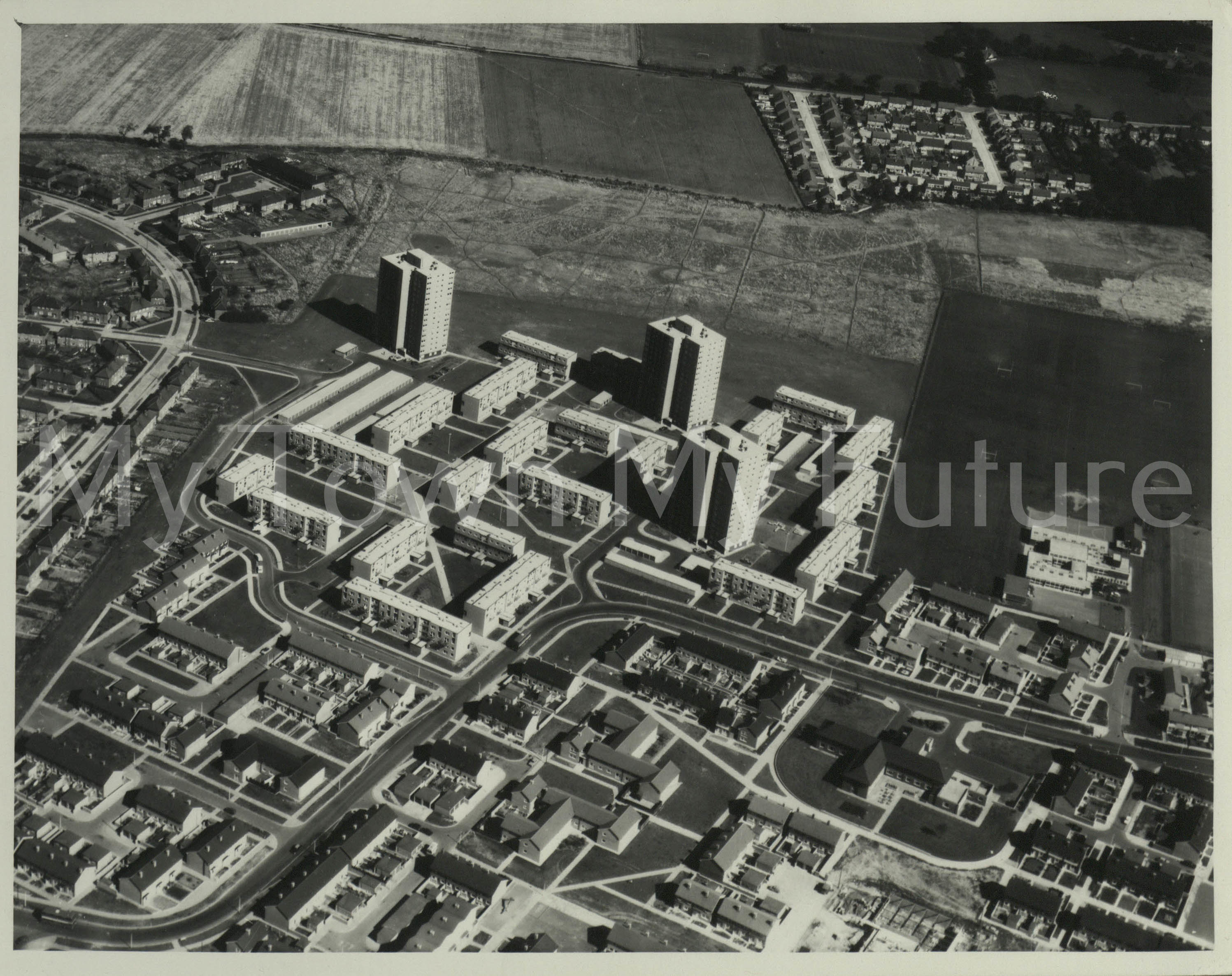 Middlesbrough Ormesby, 1972, Aerofilms