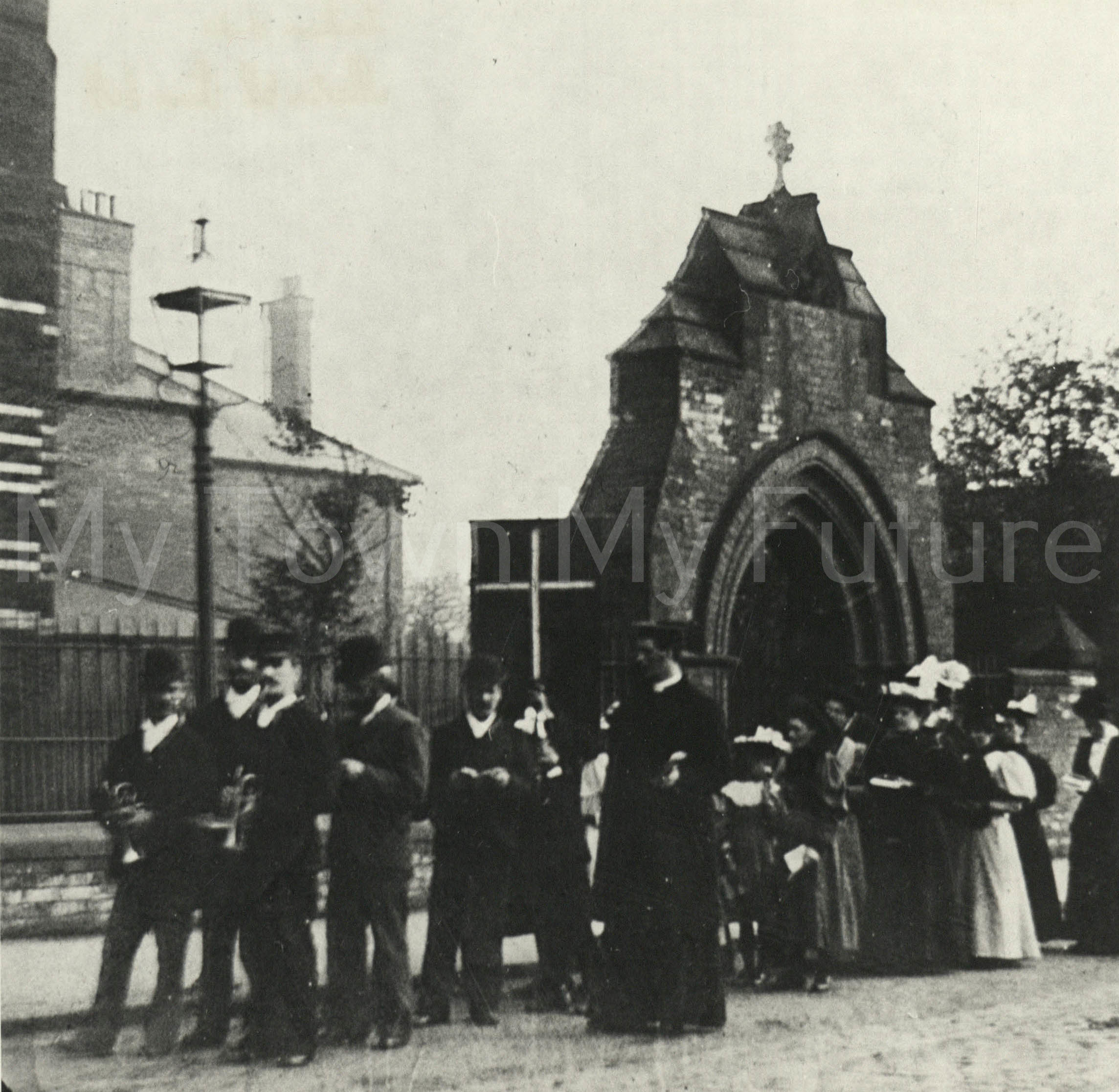 St Paul's Open Air Mission, 1900, Department of Planning - Cleveland County Council