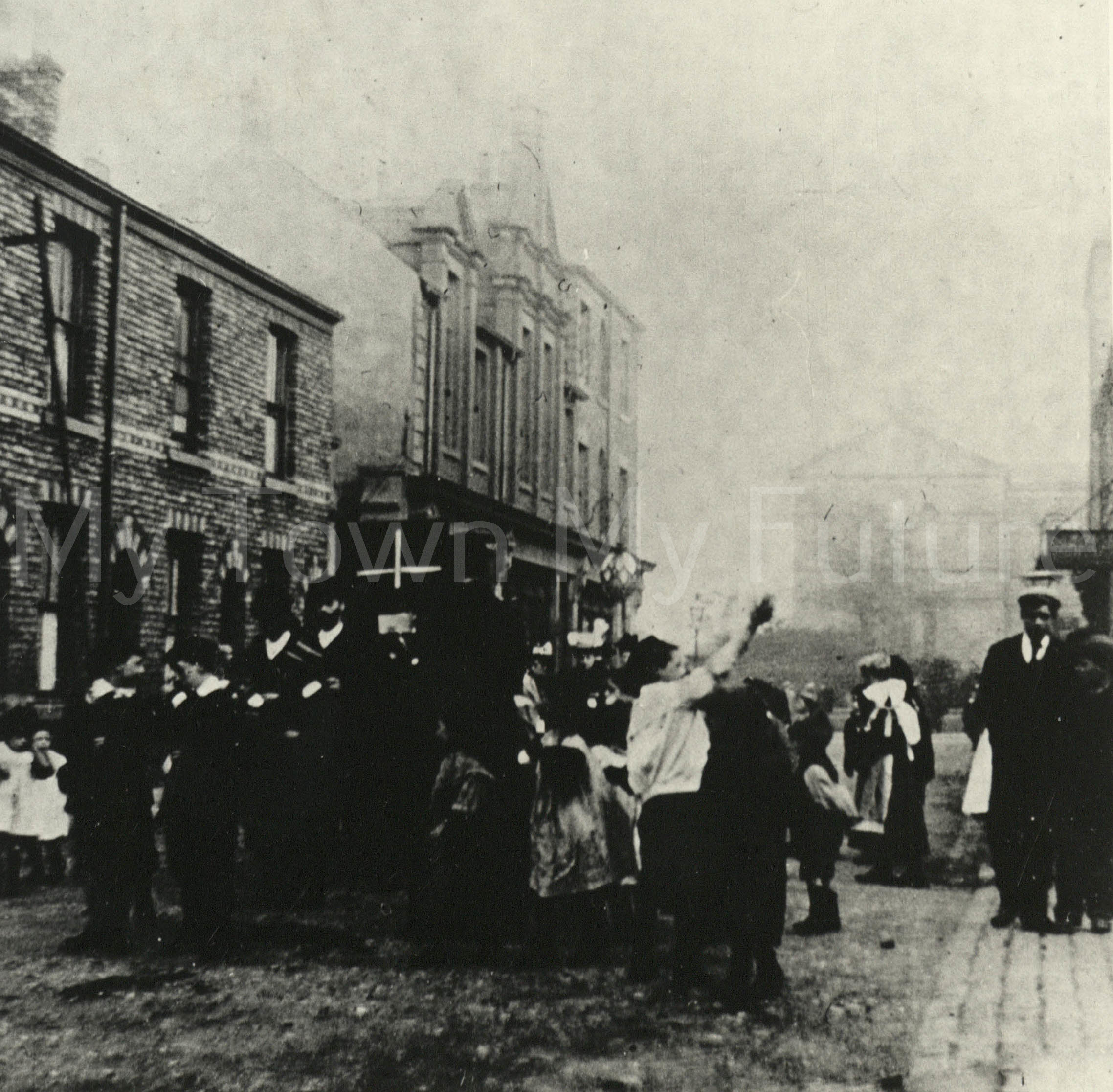 St Paul's Open Air Mission (infirmary In The Background), 1900, Department of Planning - Cleveland County Council
