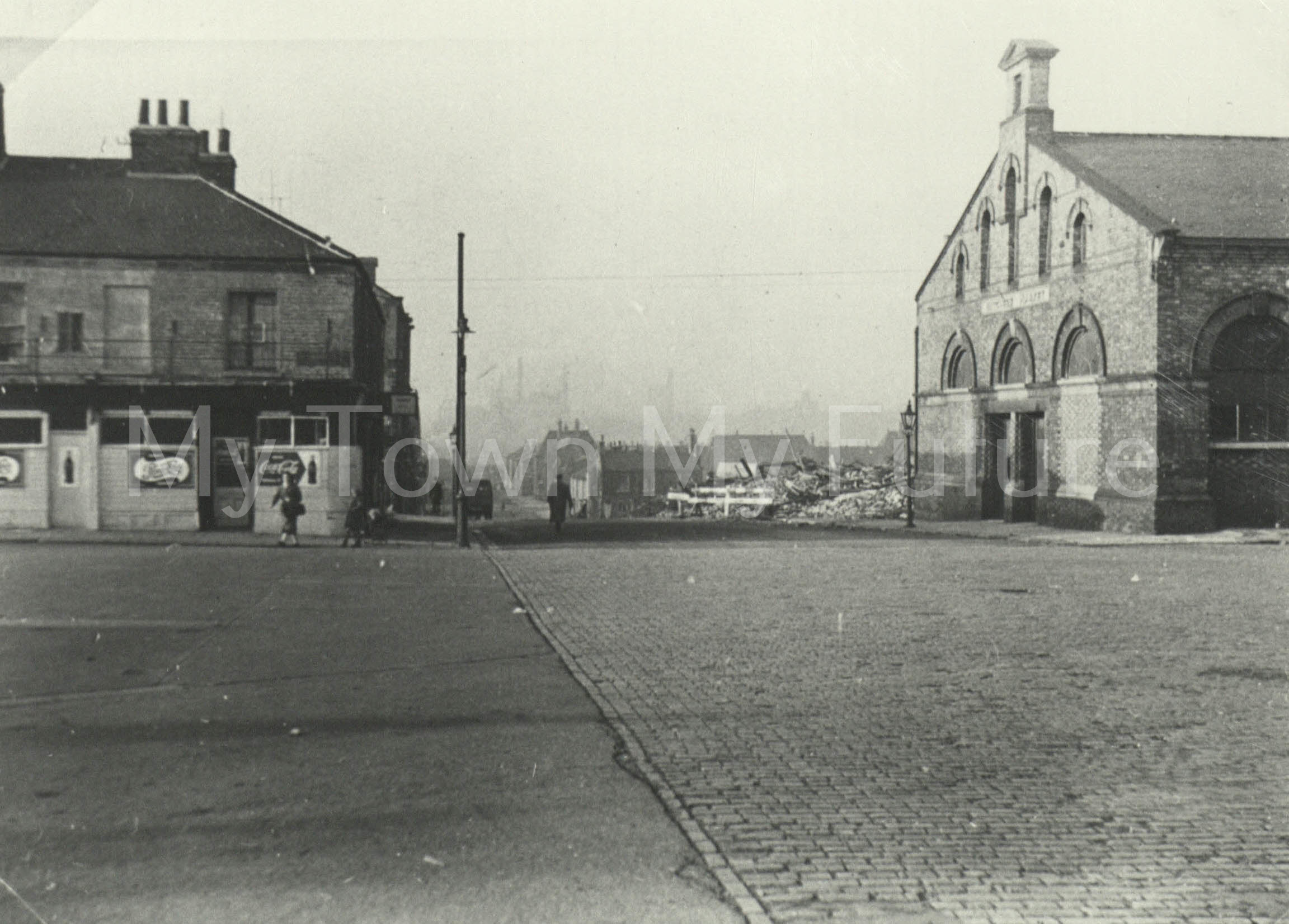 West Street - From Old Town Hall, 5th November 1955, Mr Browns Album