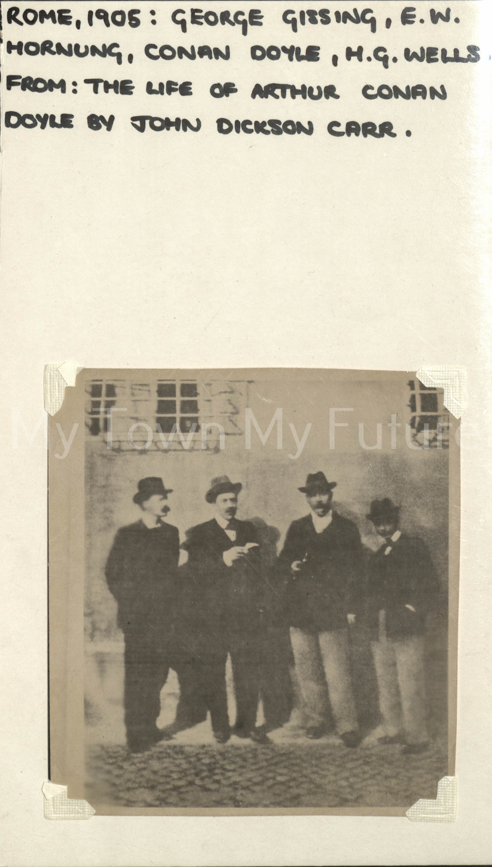 George Gissing,HG Wells,Conan Doyle,EW Hornung