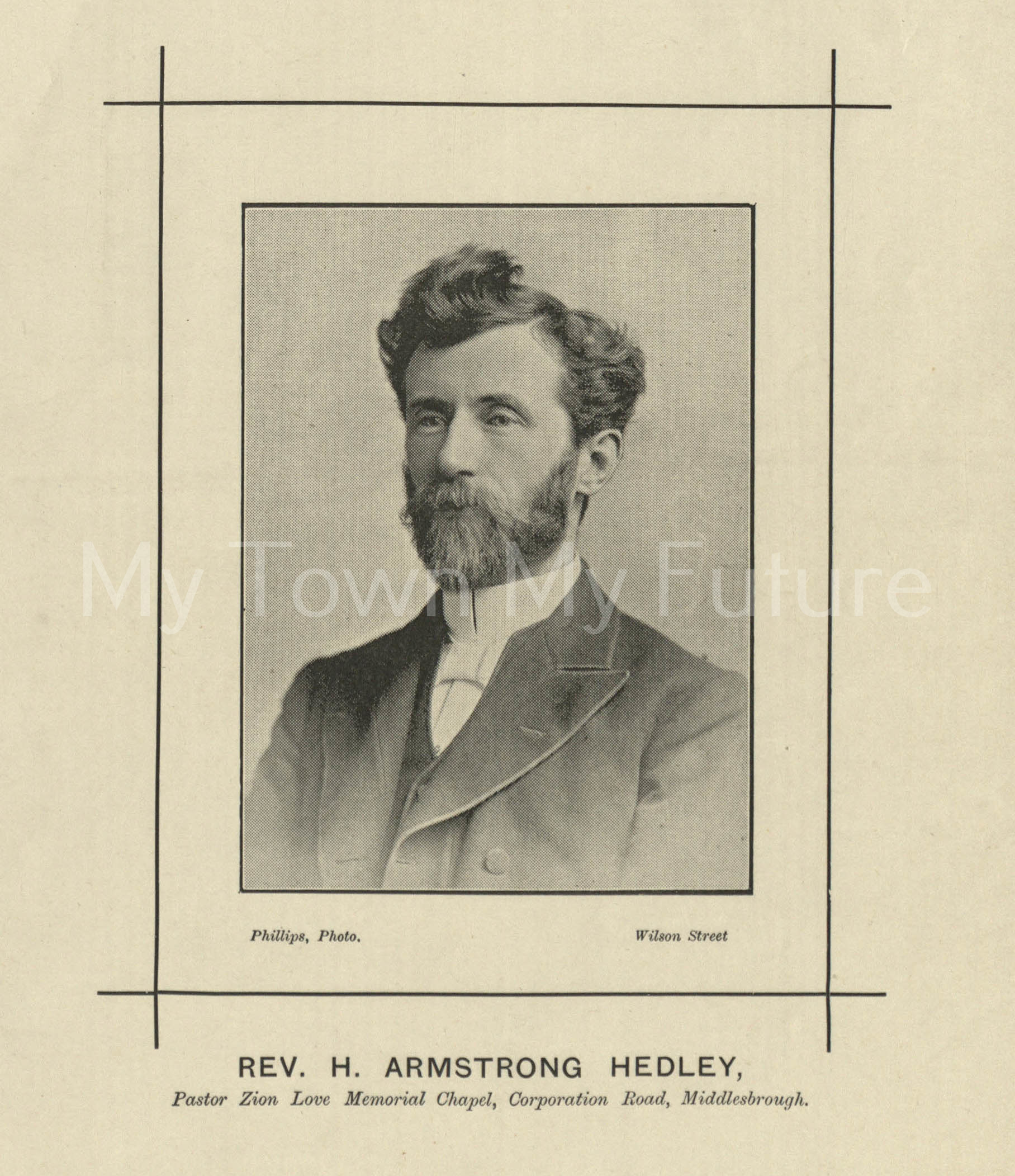 Rev H. Armstrong Hedley