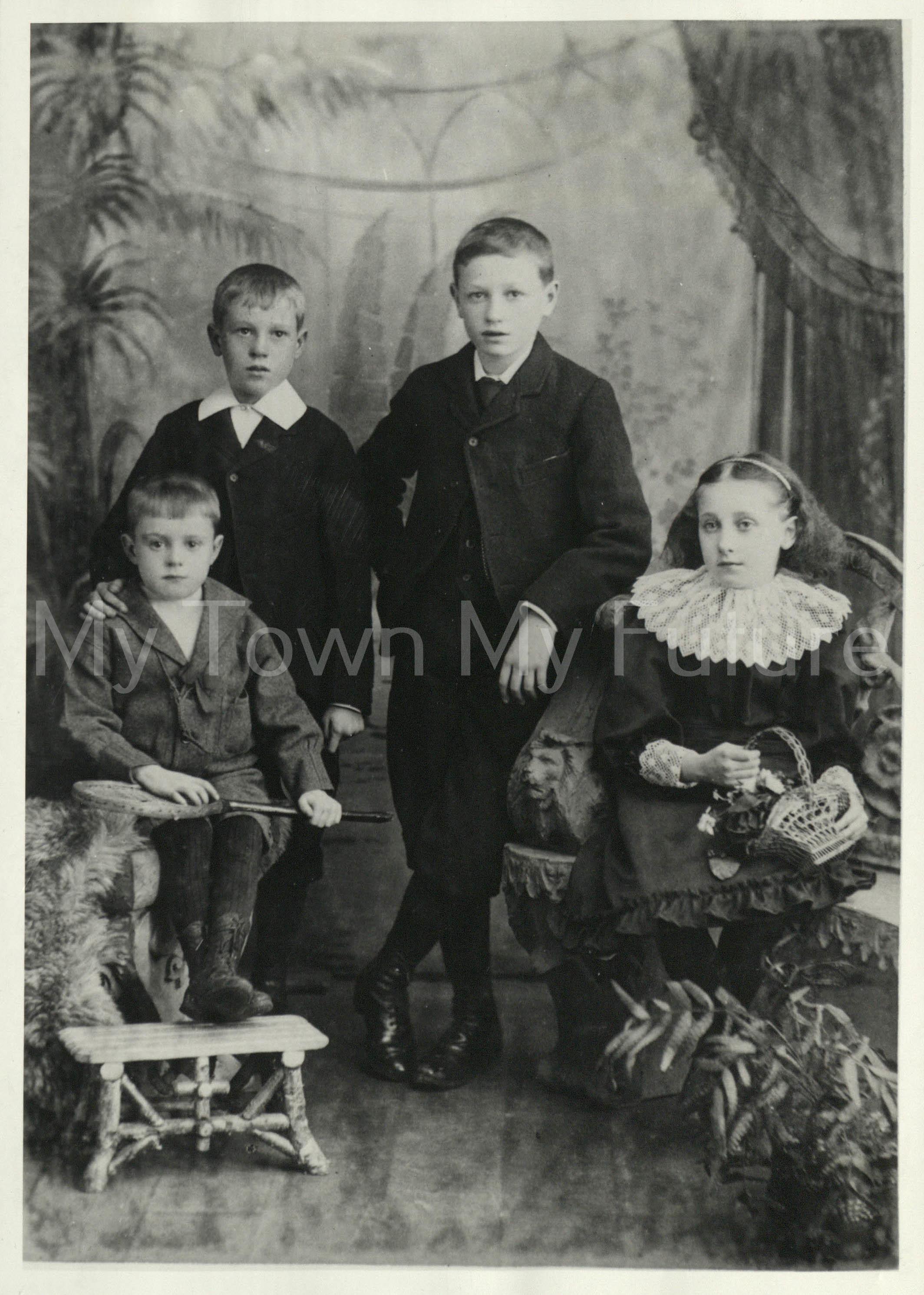 Nevison, James ,Walter & Beatrice Lunam