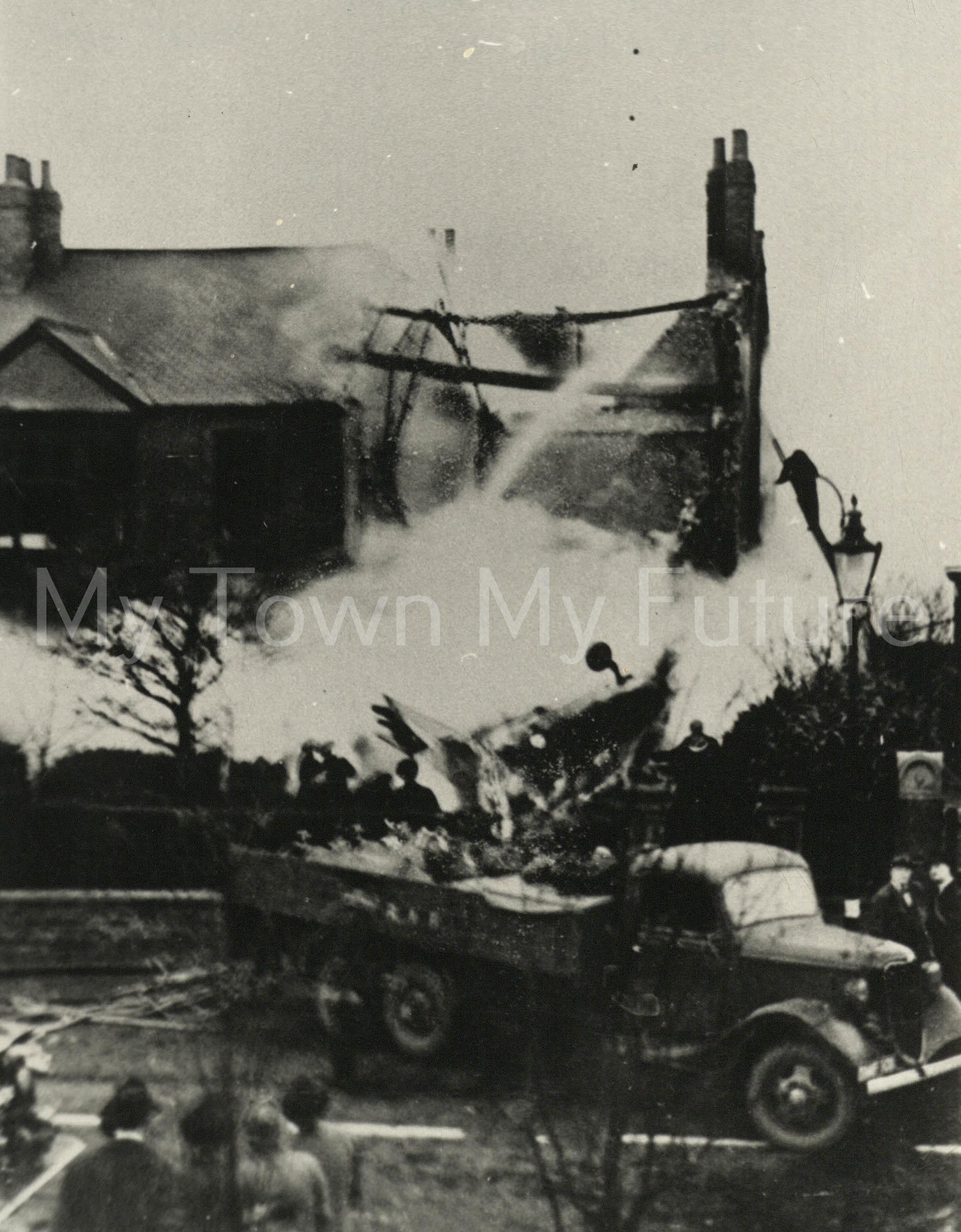 Lochheed Hudson of RAF Coastal Command November 1939 Crashed on Cambridge Road, Linthorpe