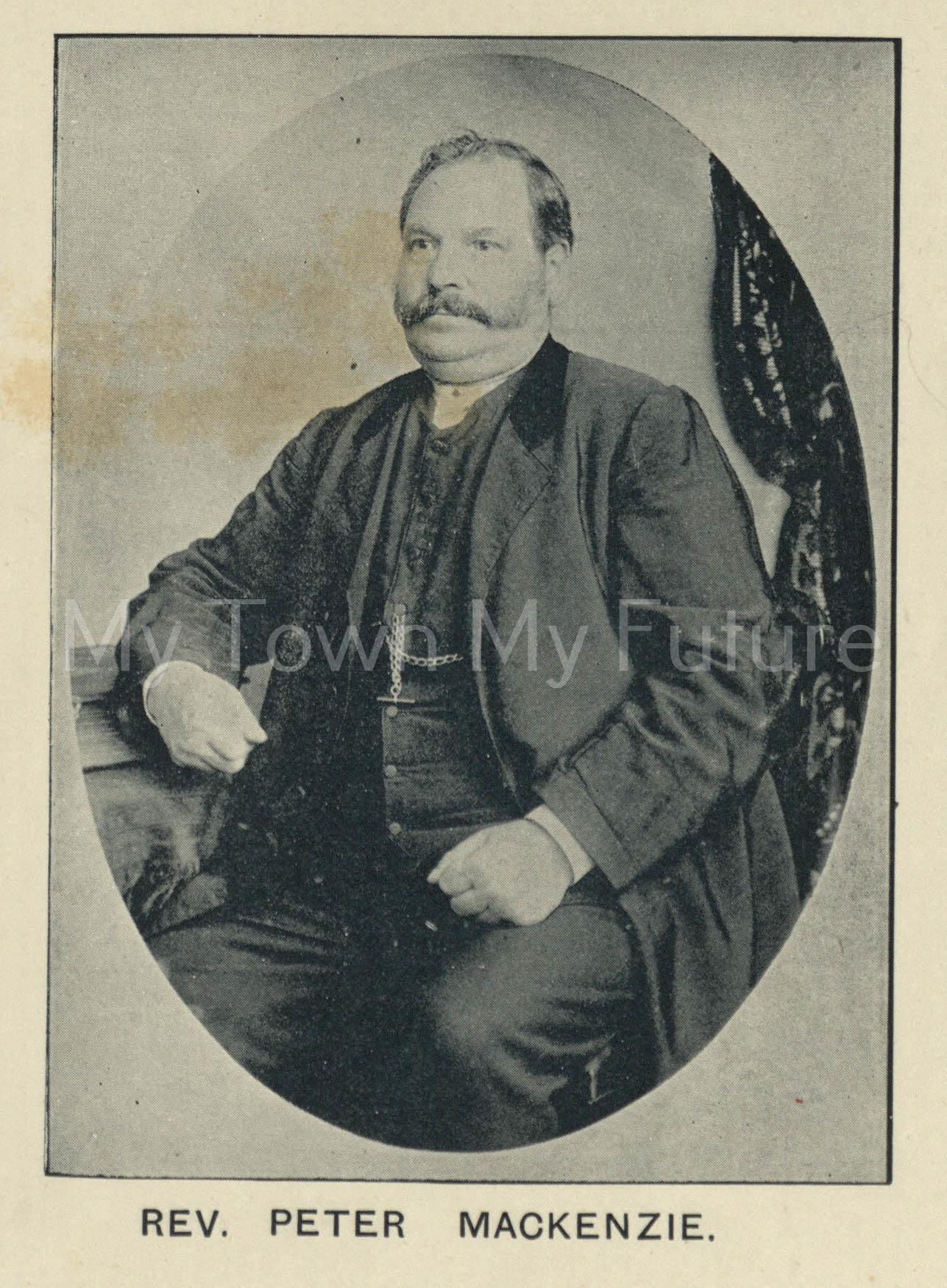 Rev Peter Mackenzie_4 Jan 1896_Northern Weekly Gazette