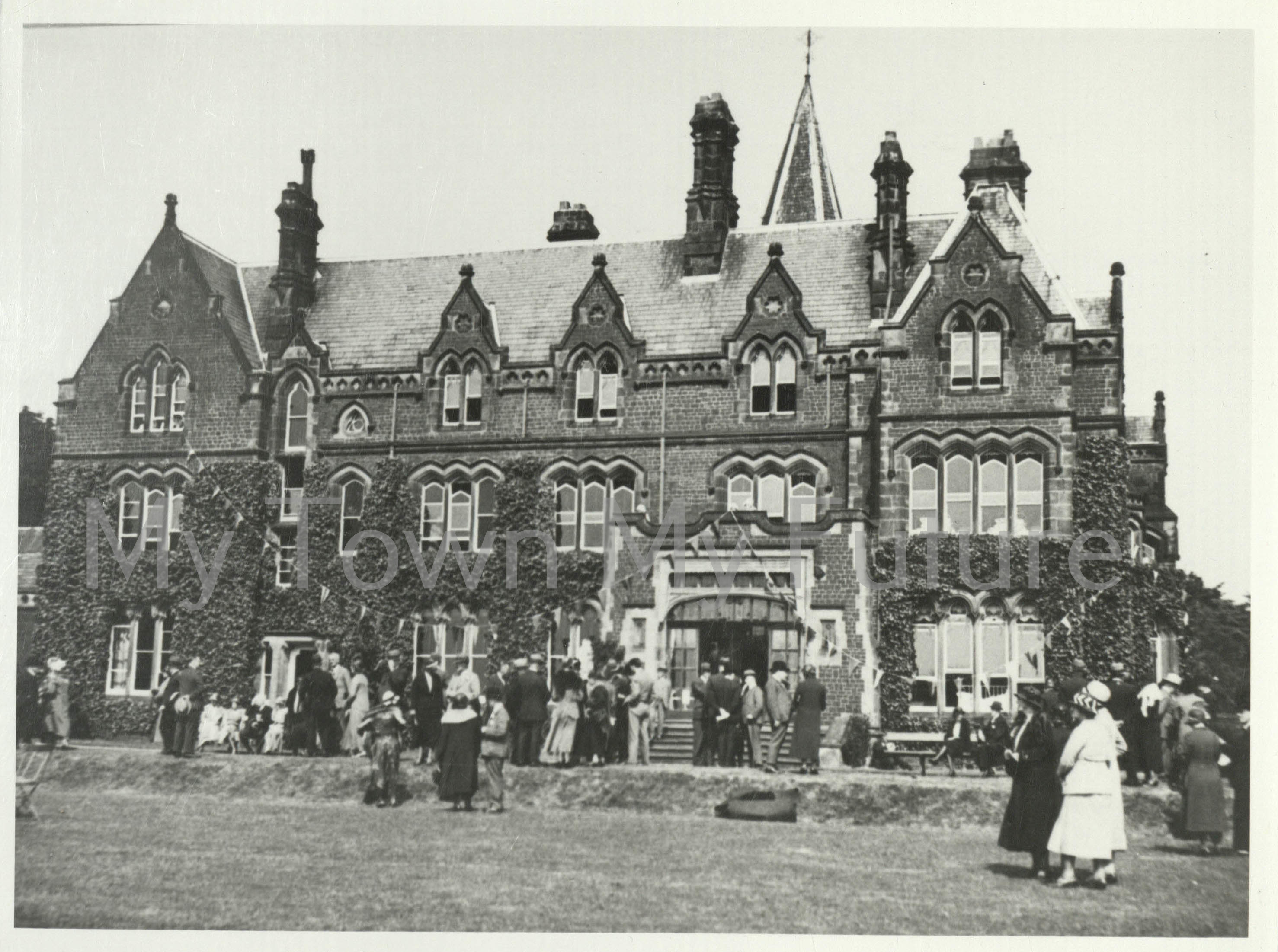 Grey Towers from the lawn 22 June 1932