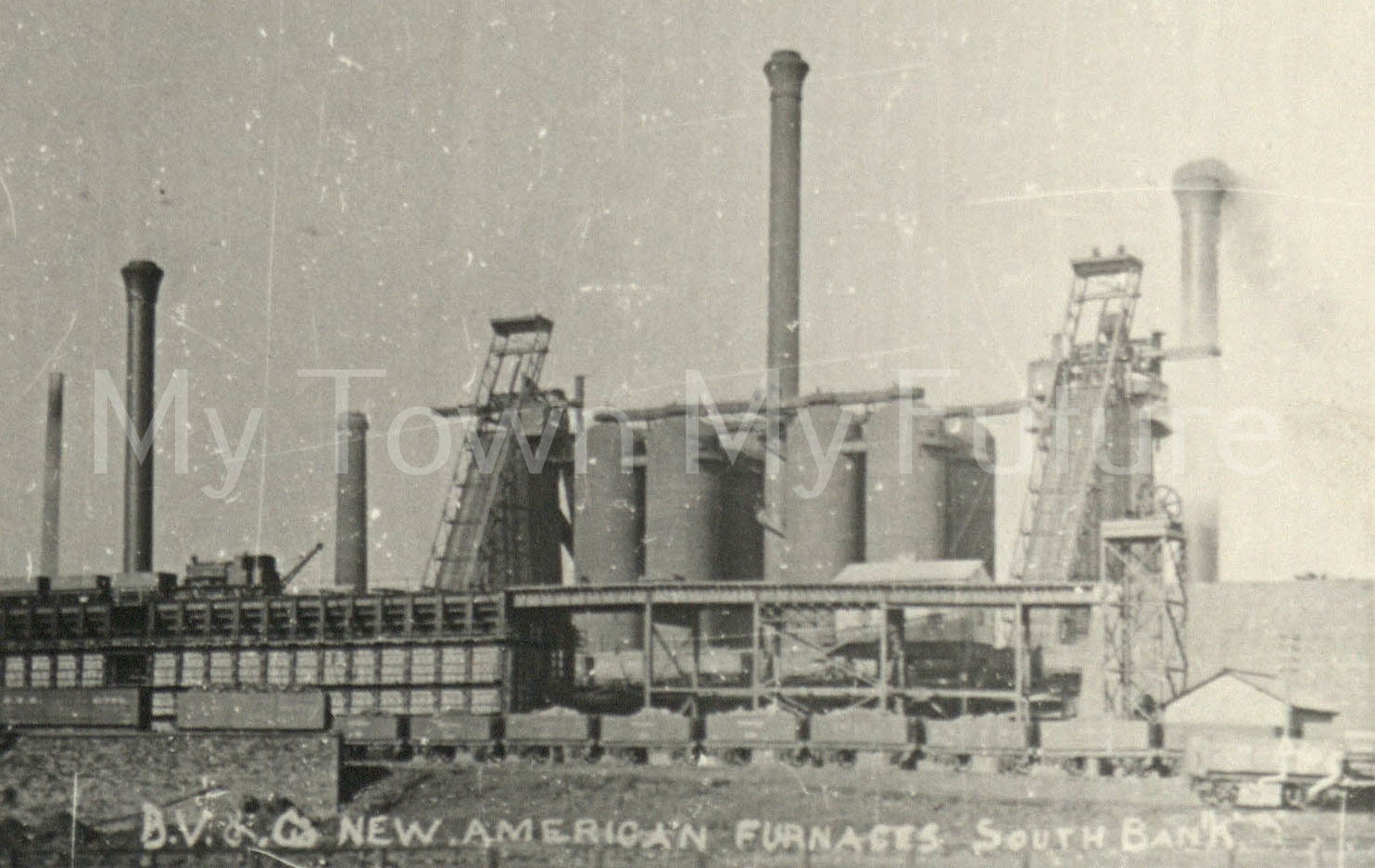 Bolckow & Vaughan Co. New American Furnaces South Bank
