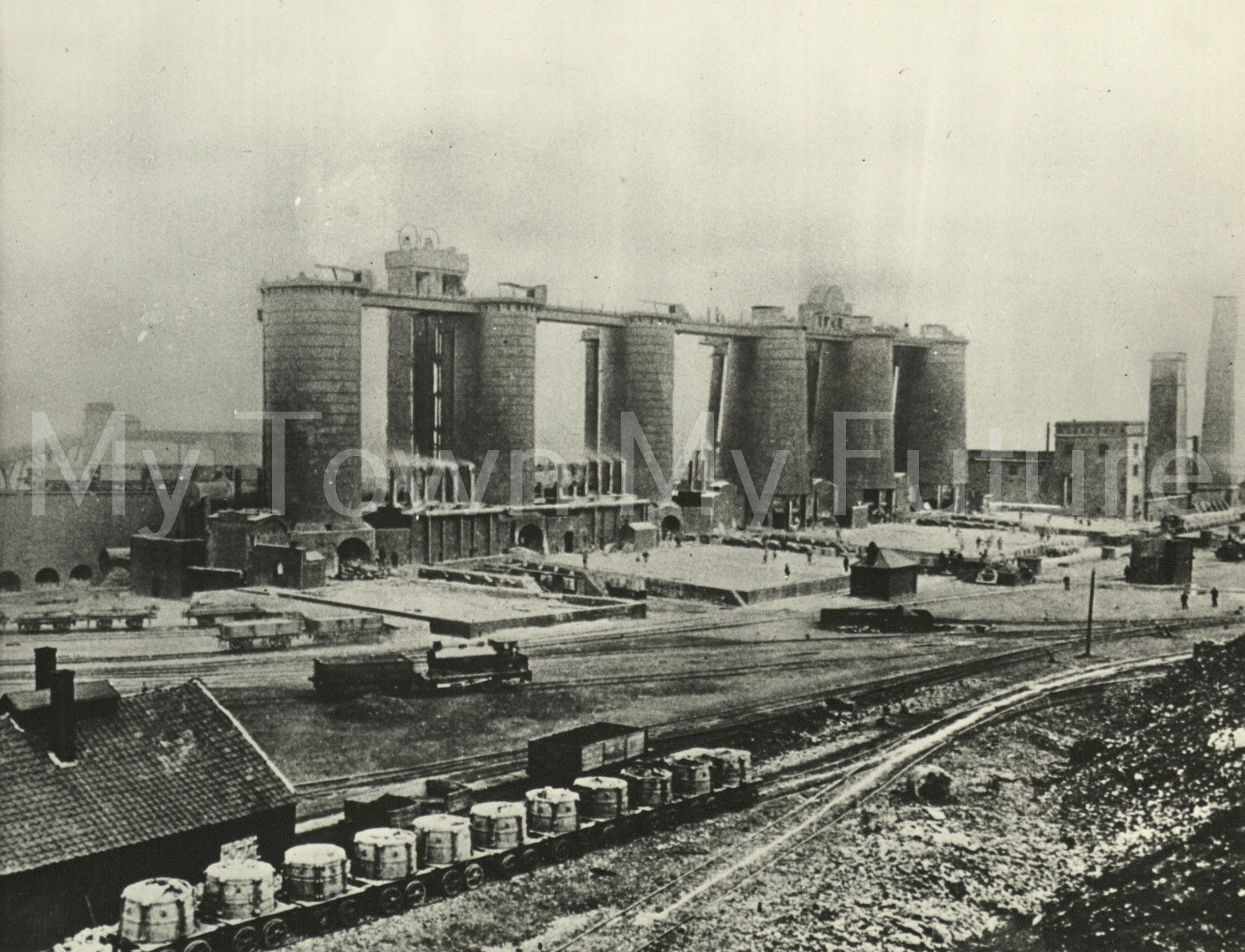 Clay Lane Ironworks 11th December 1969