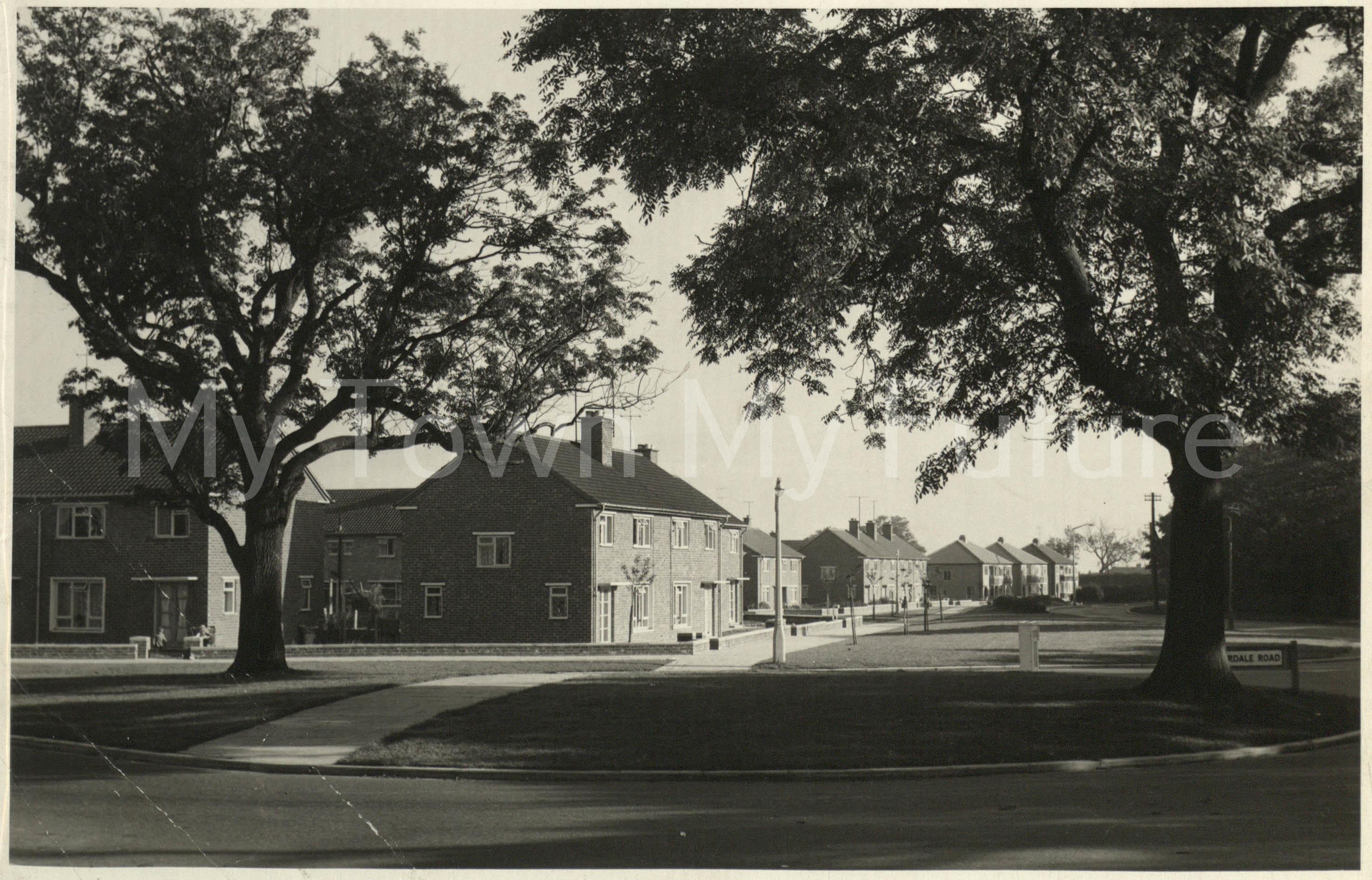 Overdale Road Park End Housing Estate Oct 1957