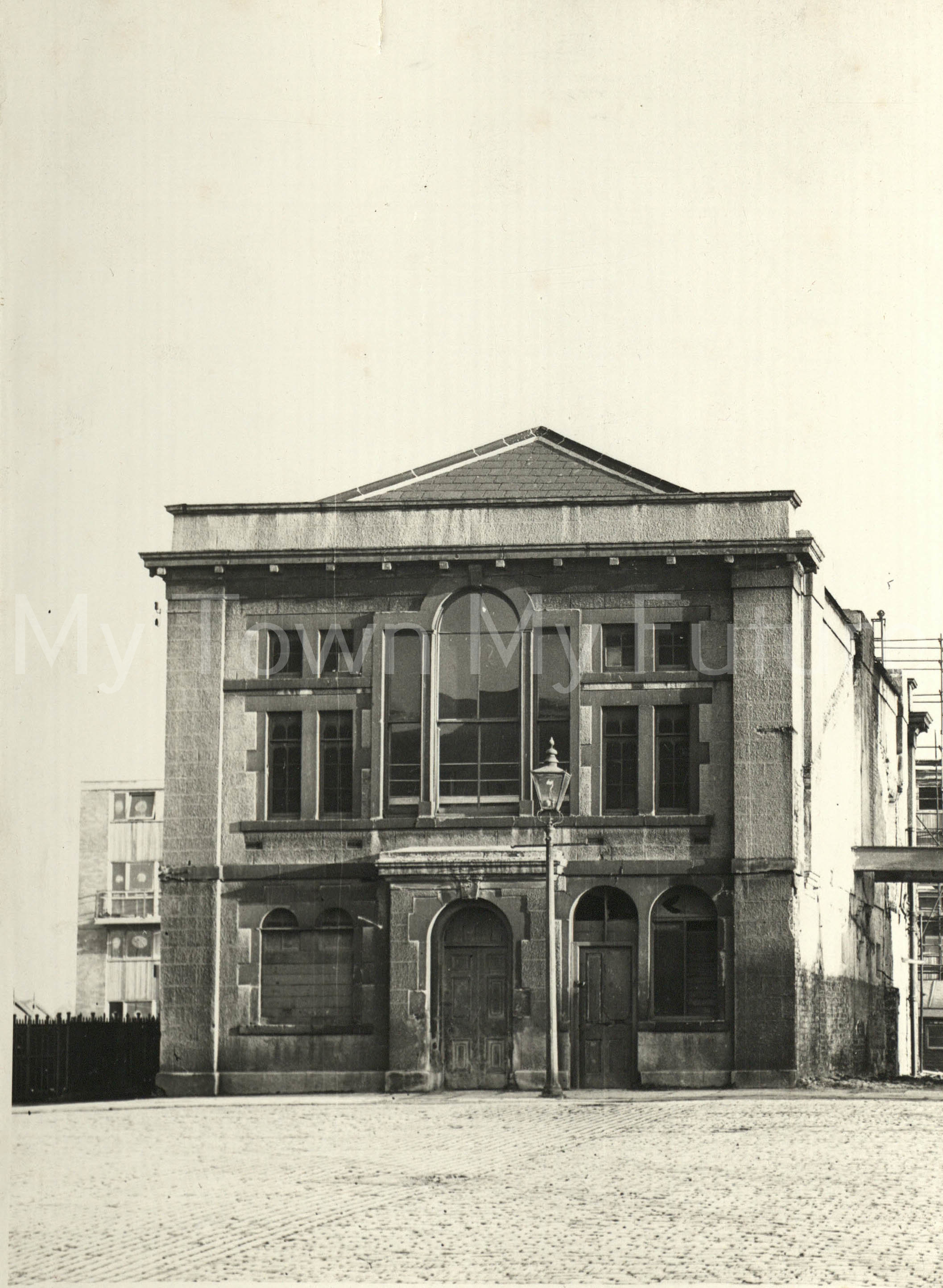 Old Town Hall - (before Alterations) - March 1962, Borough Engineers Department