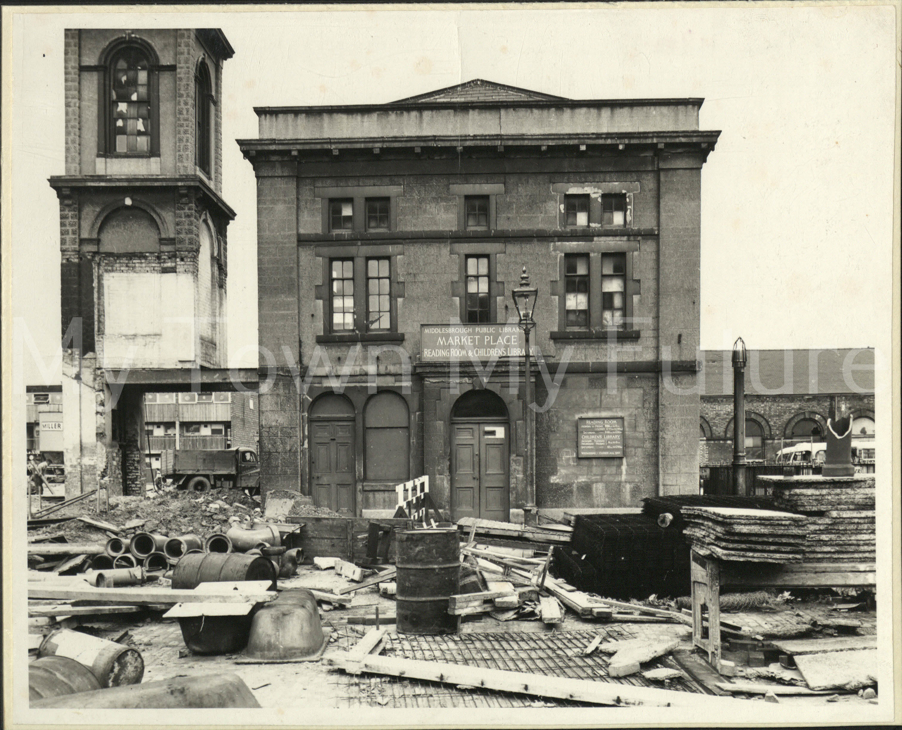 Old Town Hall - before alterations, March 1962