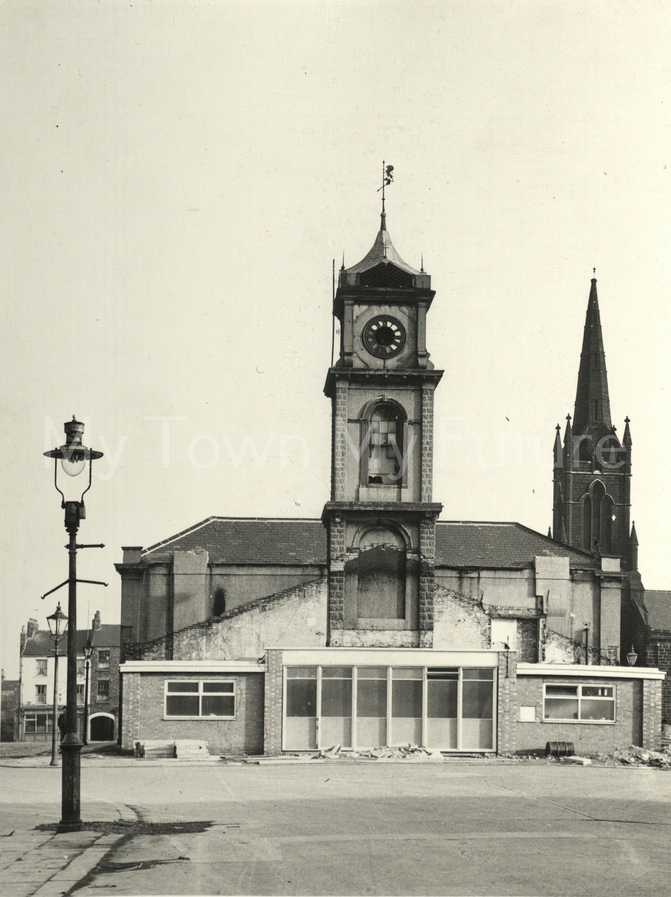 Old Town Hall (Building completed September 1846) before alterations, March 1962, Borough Engineers Department