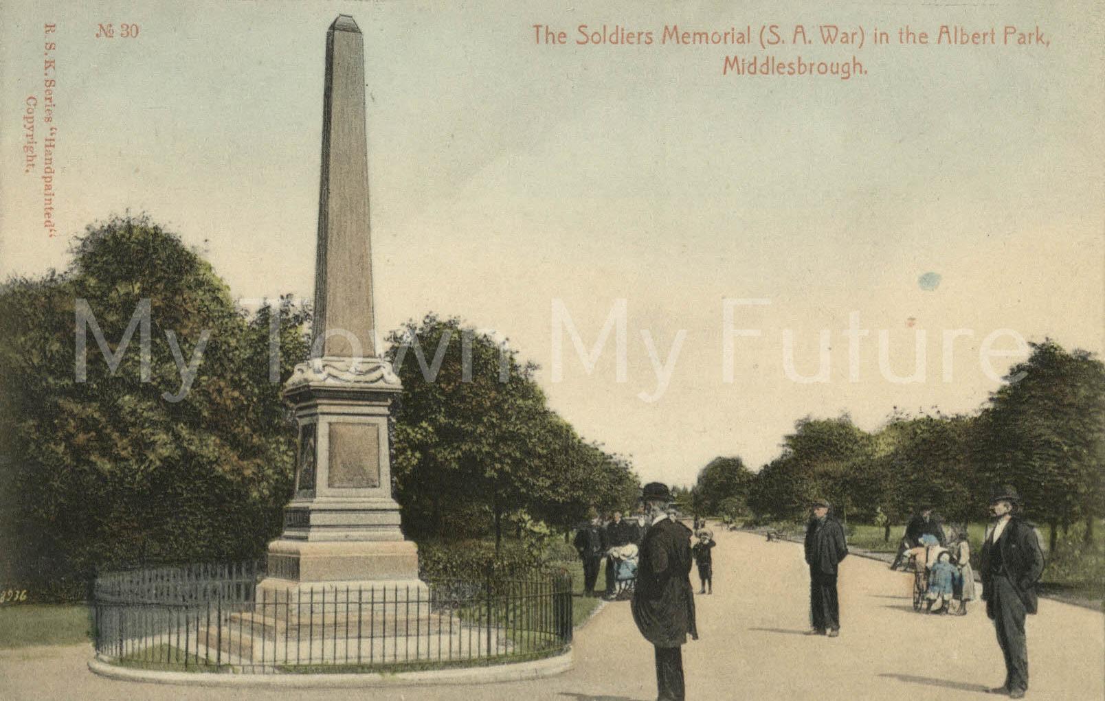 War Memorial Boer War