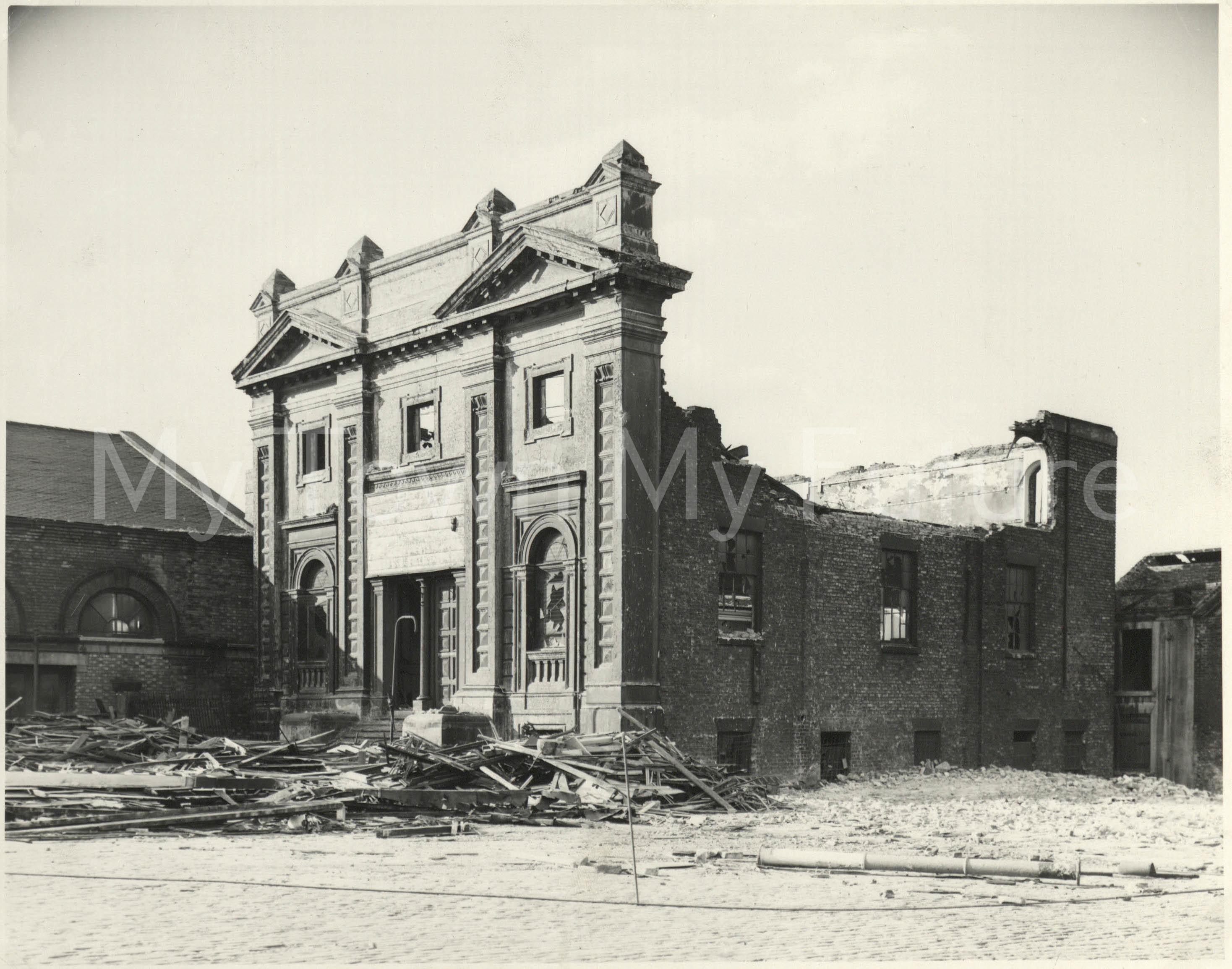 Centenary Methodist Church, 1959, Borough Engineers Department