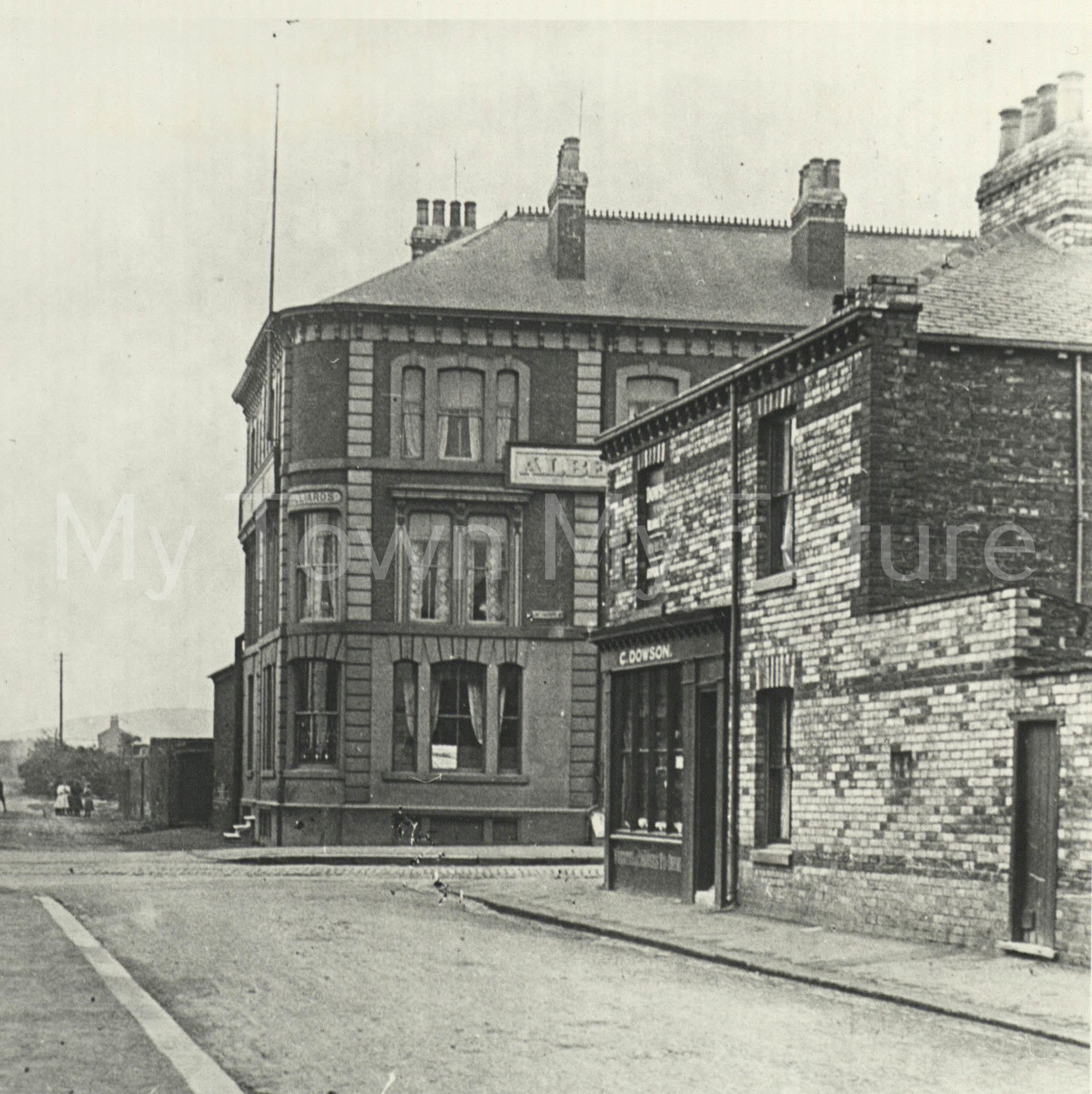 Albert Park Hotel Linthorpe Road opened 1871 now closed c1900