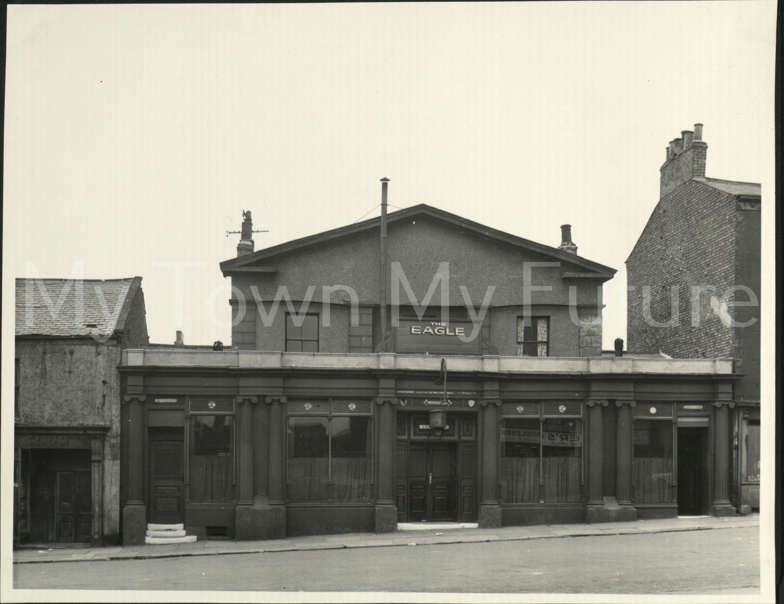 The Eagle, 1857, East Street, St Hilda's. 1954.