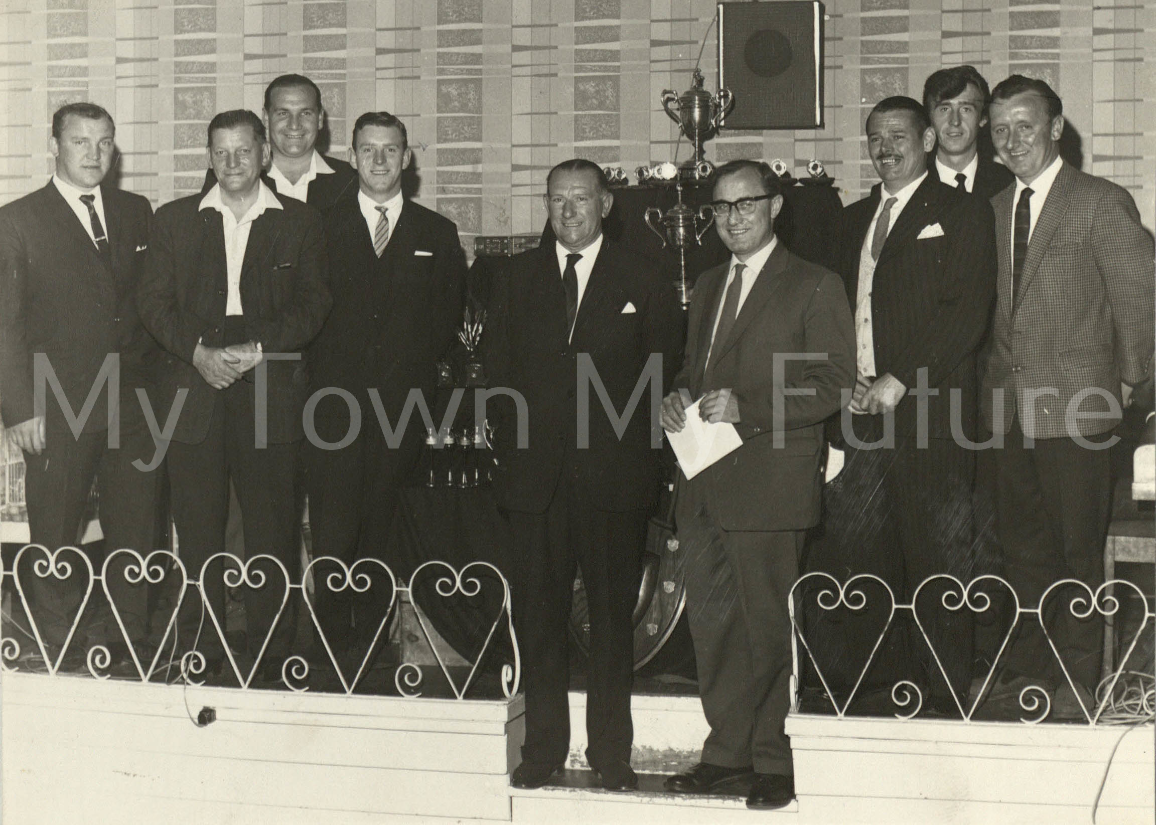 Eston & District Darts League Presentation Night 1966