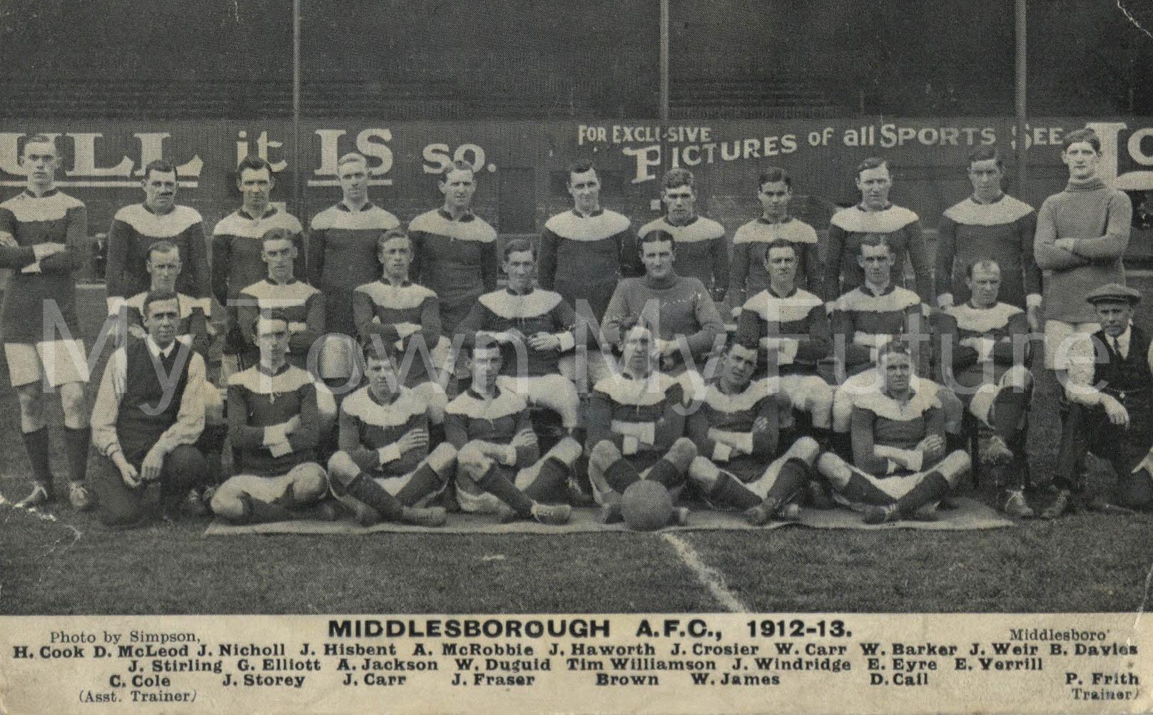 Middlesbrough Football Club 1912-1913