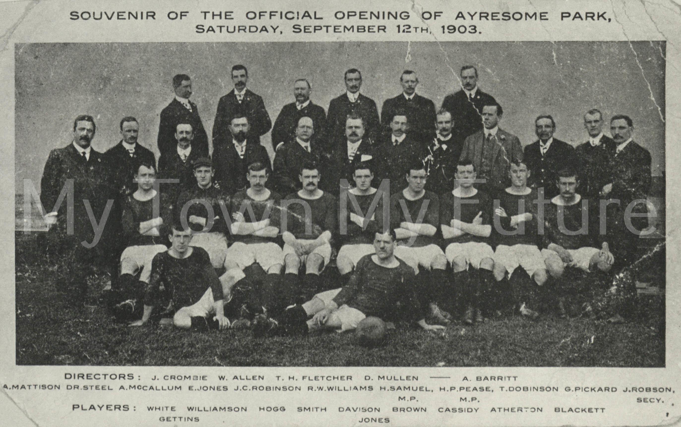 Middlesbrough Football Club 1903