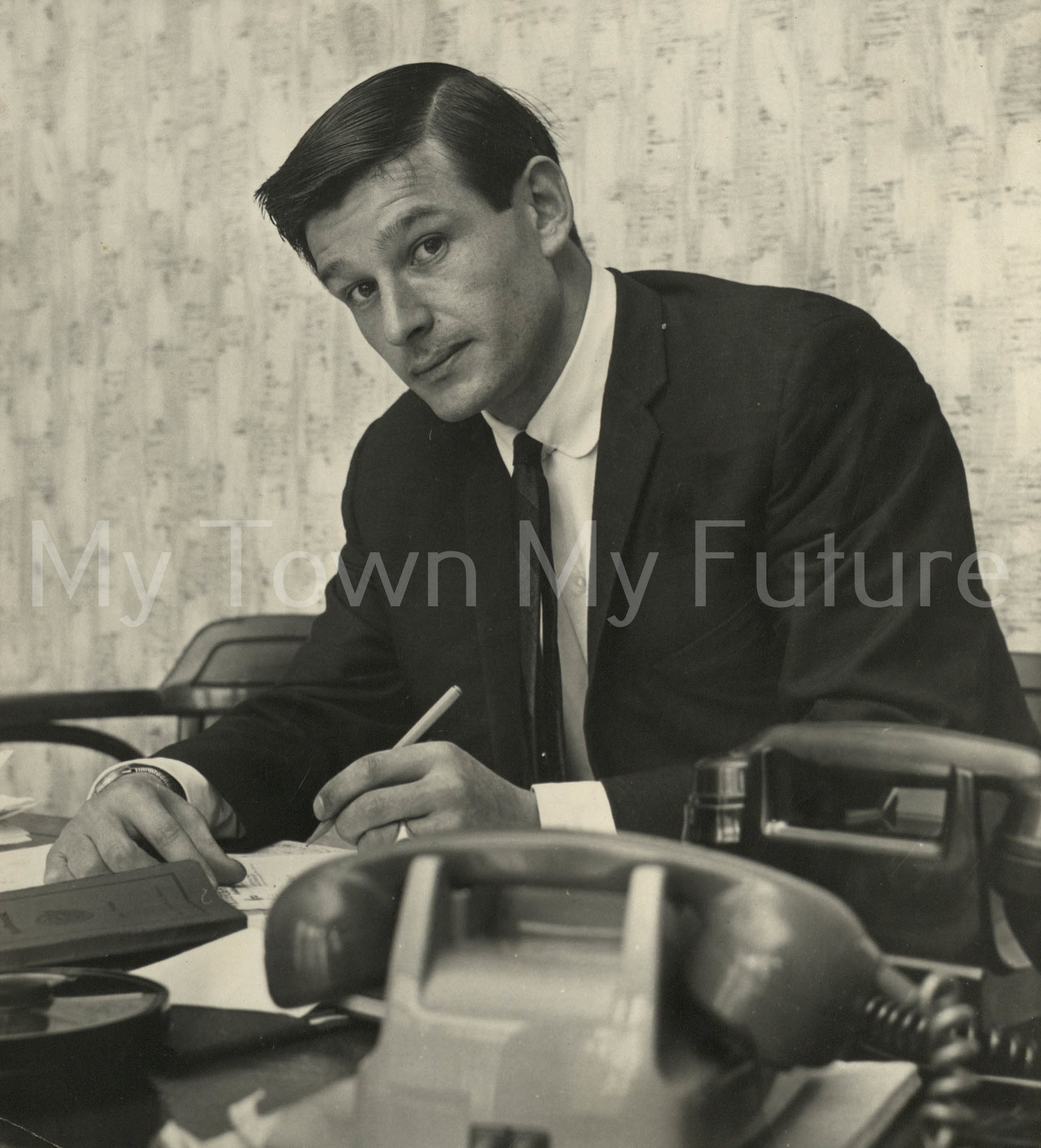 Middlesbrough Football Club Manager Stan Anderson