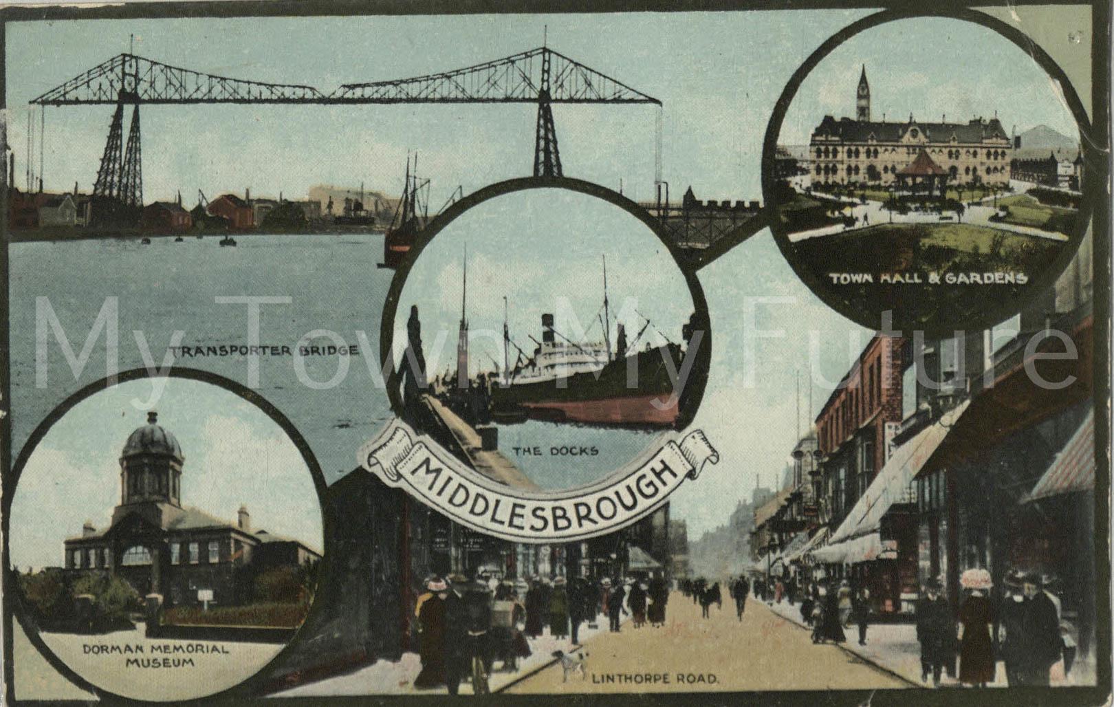Middlesbrough Postcard