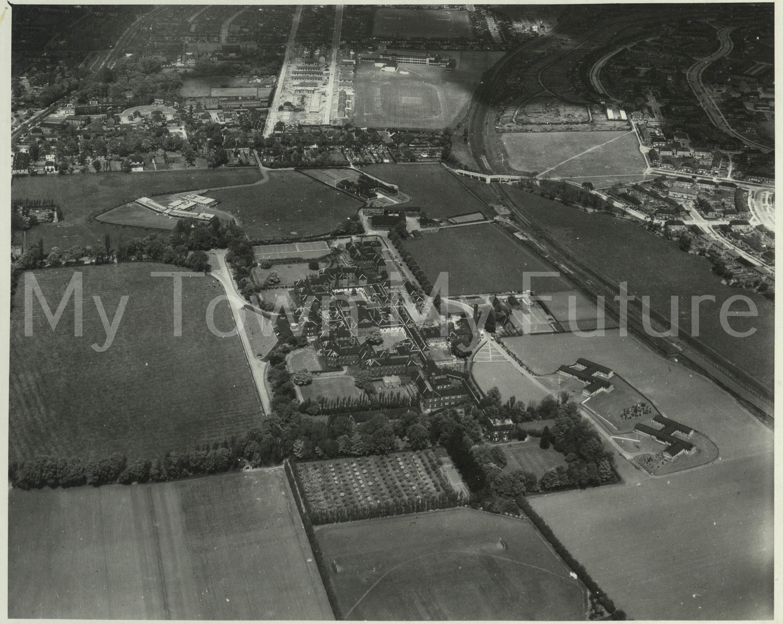 Middlesbrough St Luke's Hospital, Aerofilms