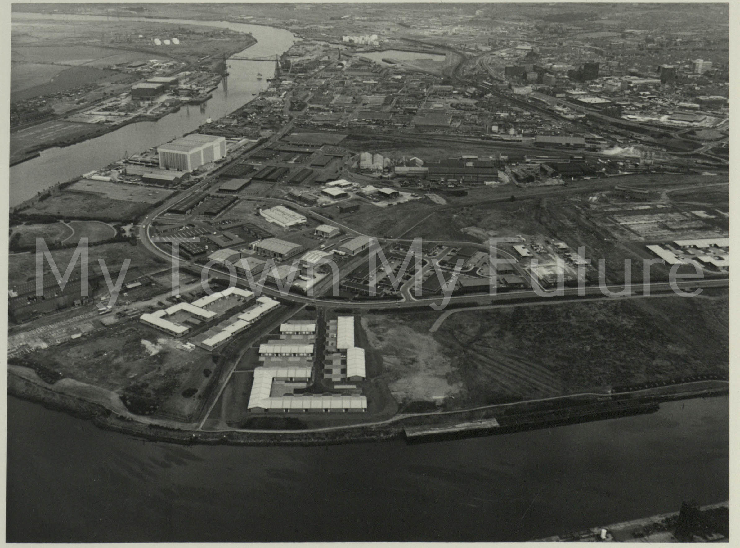 Middlesbrough River Tees - Department of Planning - Cleveland County Council