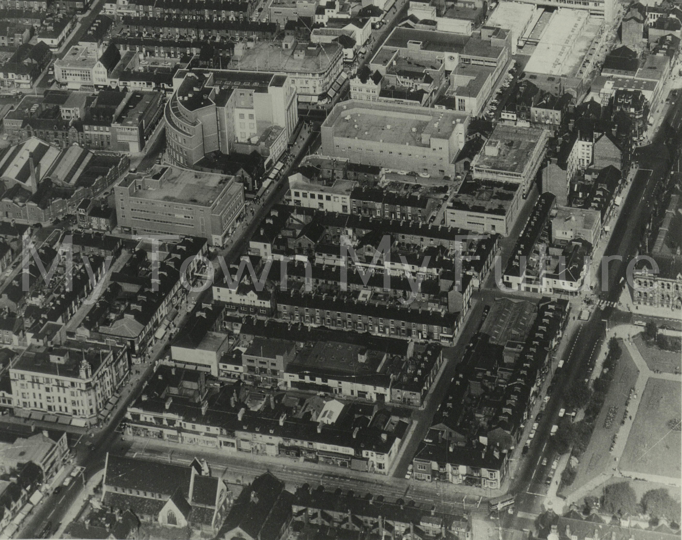 Middlesbrough Town Centre (1964).