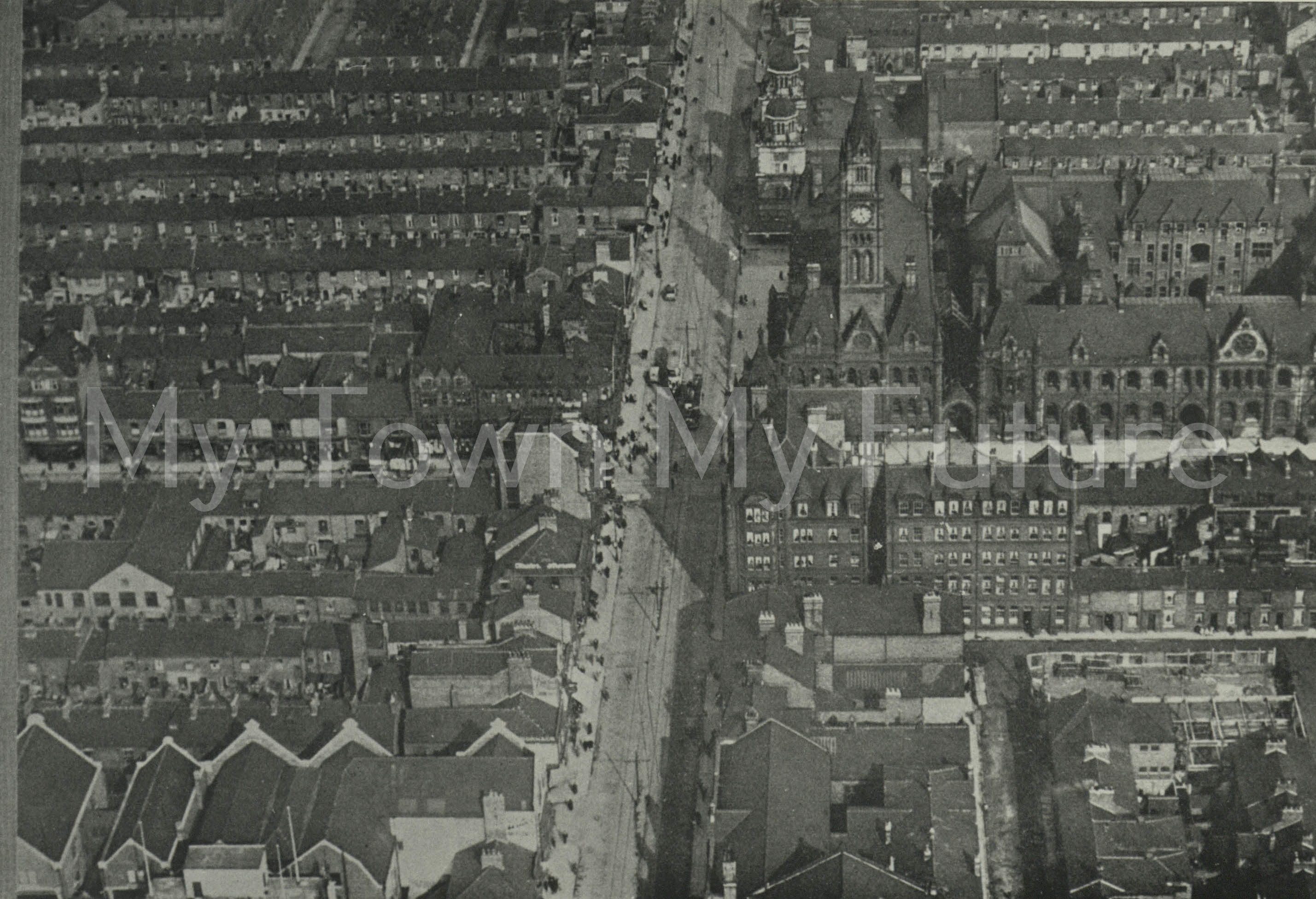 Middlesbrough, Corporation Road (1930).