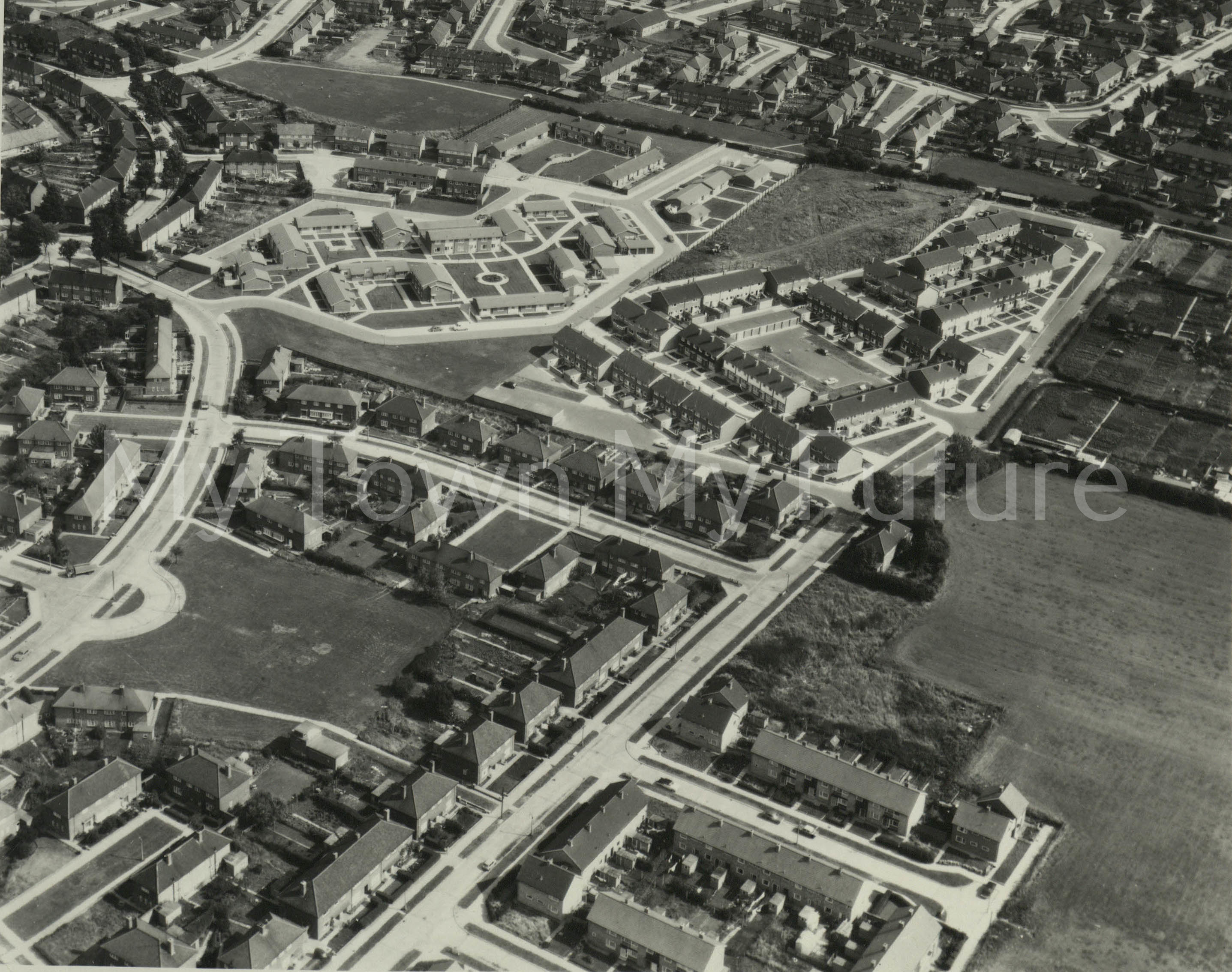 Easterside, Middlesbrough - Aerofilms
