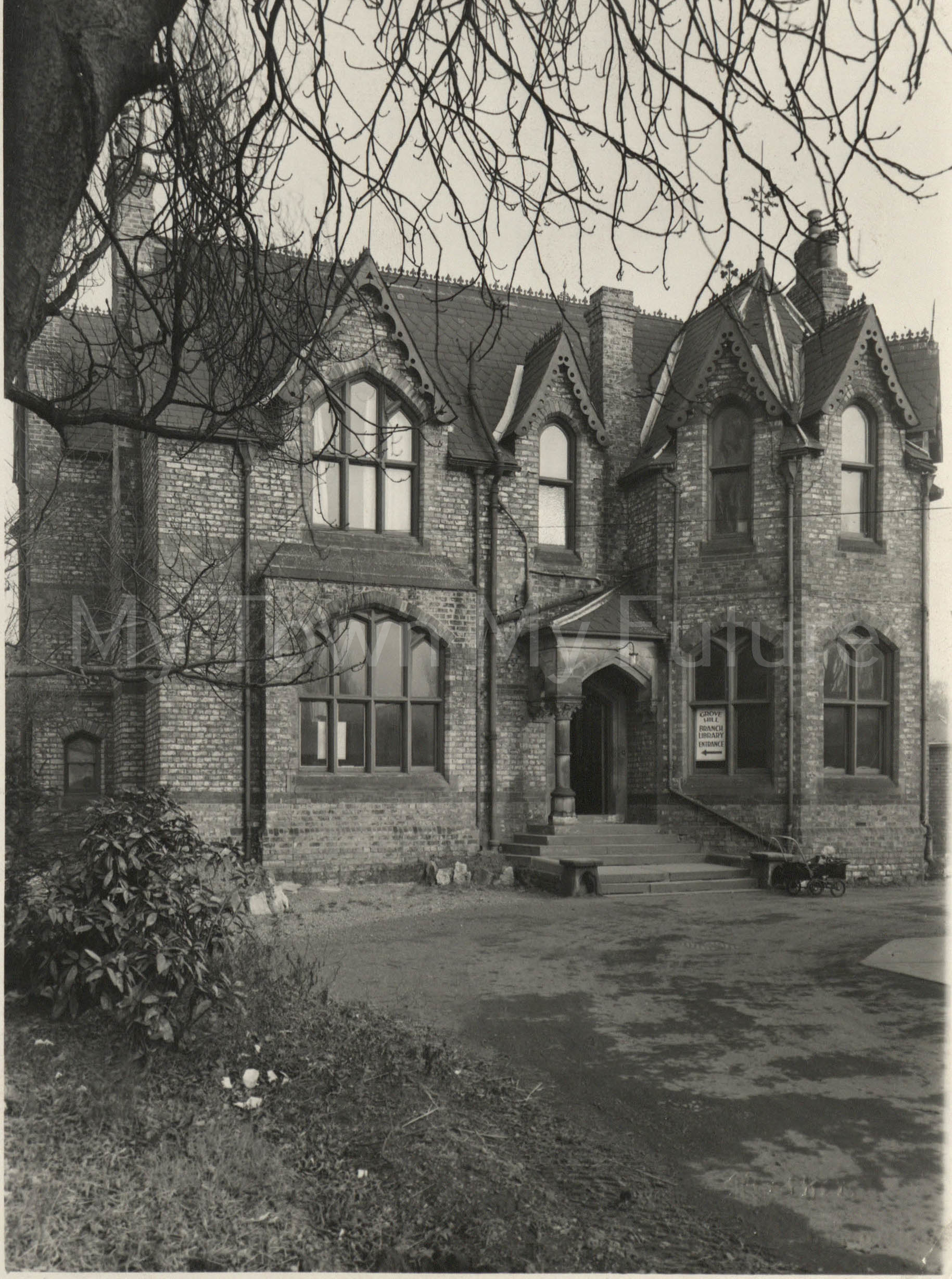 Grove Hill Branch Library Opening, 1947, Mather's Photographers, 140 Linthorpe Road, Middlesbrough
