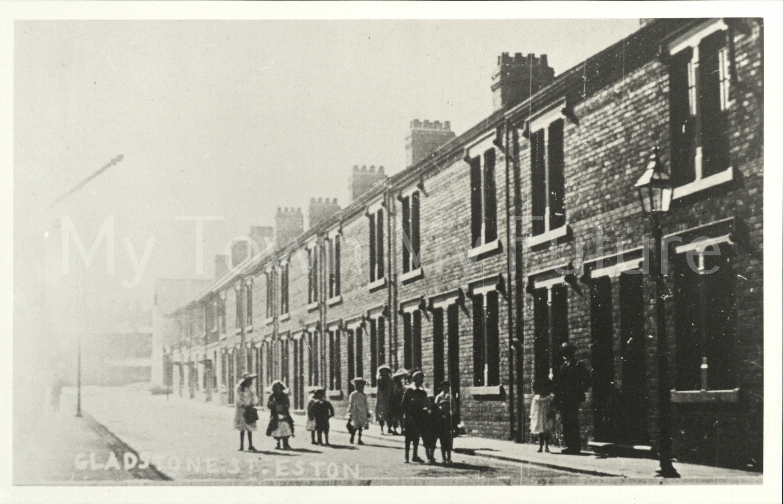 Eston, Gladstone Street, 1890