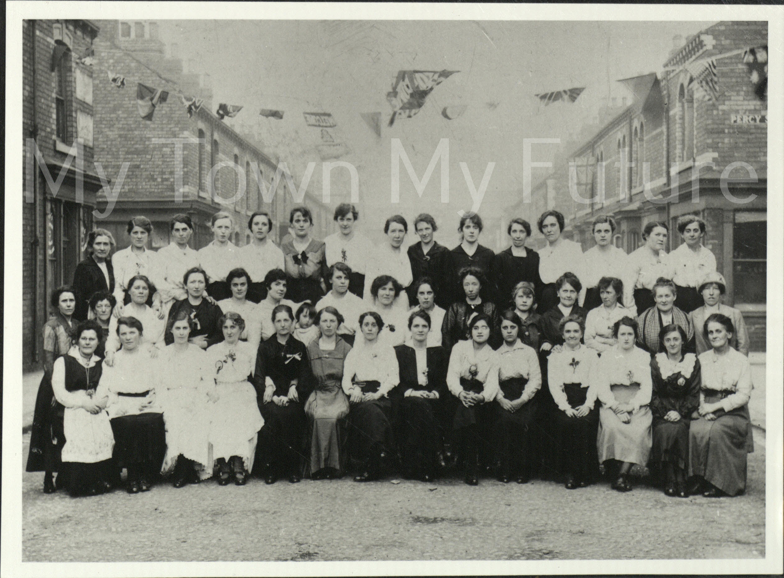 World War 1,Peace Celebrations,Garnet Street