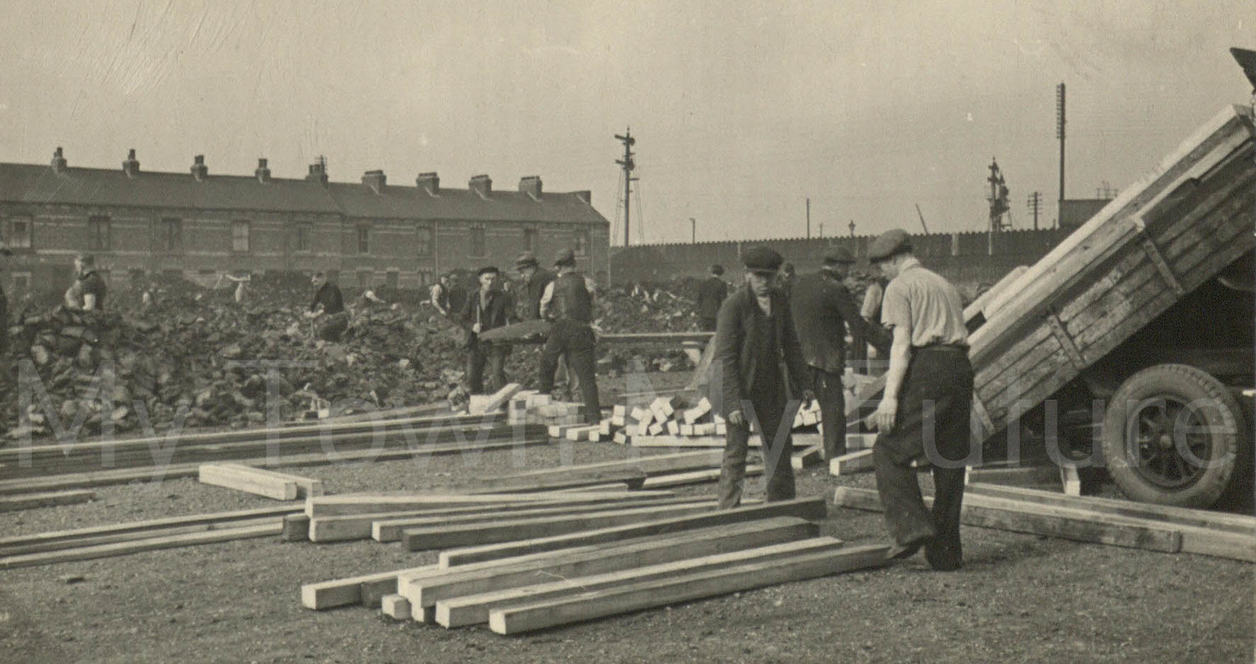 Digging Trenches Marsh Road Recreation Ground September 1938