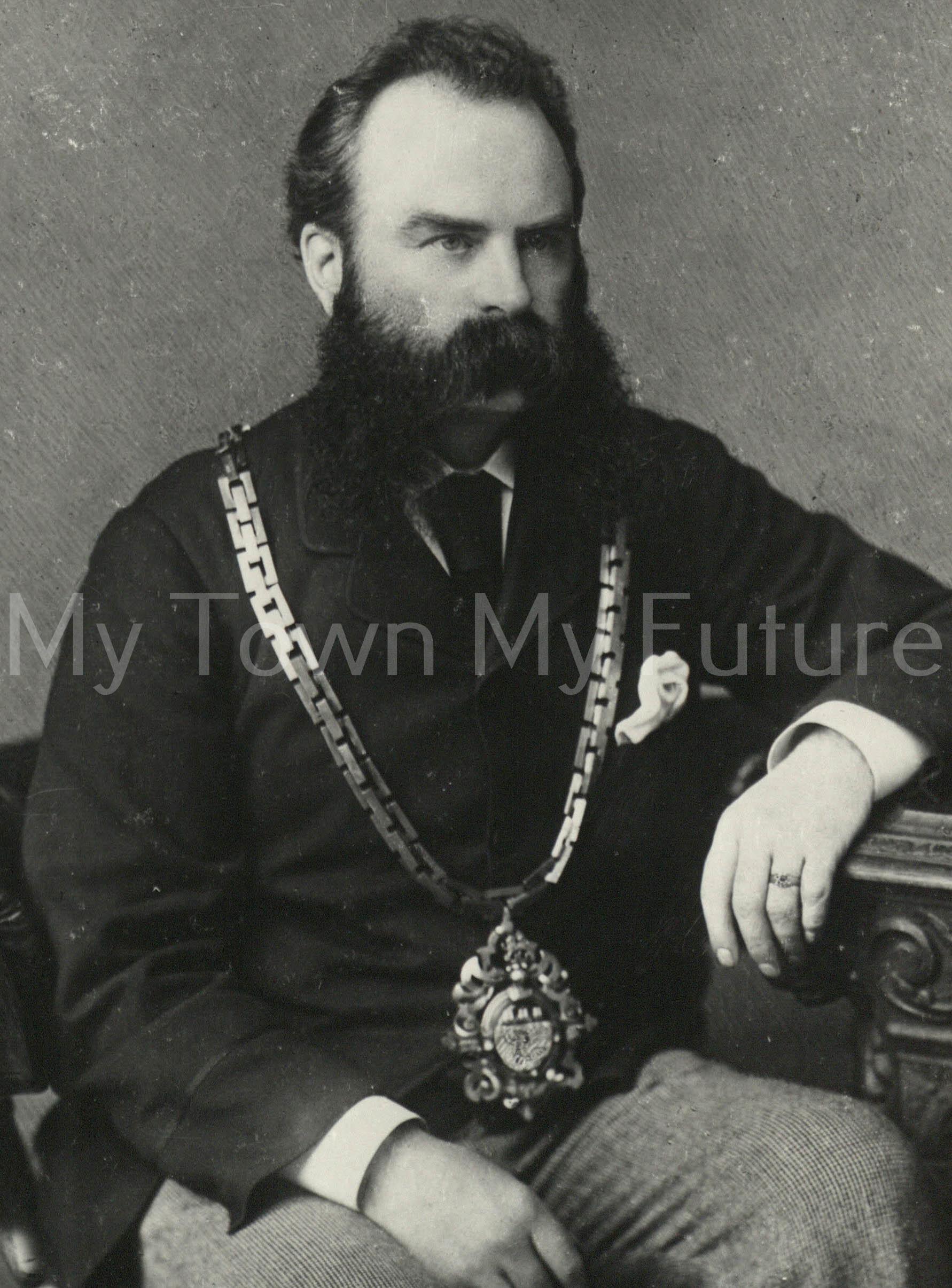 Alderman Robert Stephenson,Mayor Of Middlesbrough
