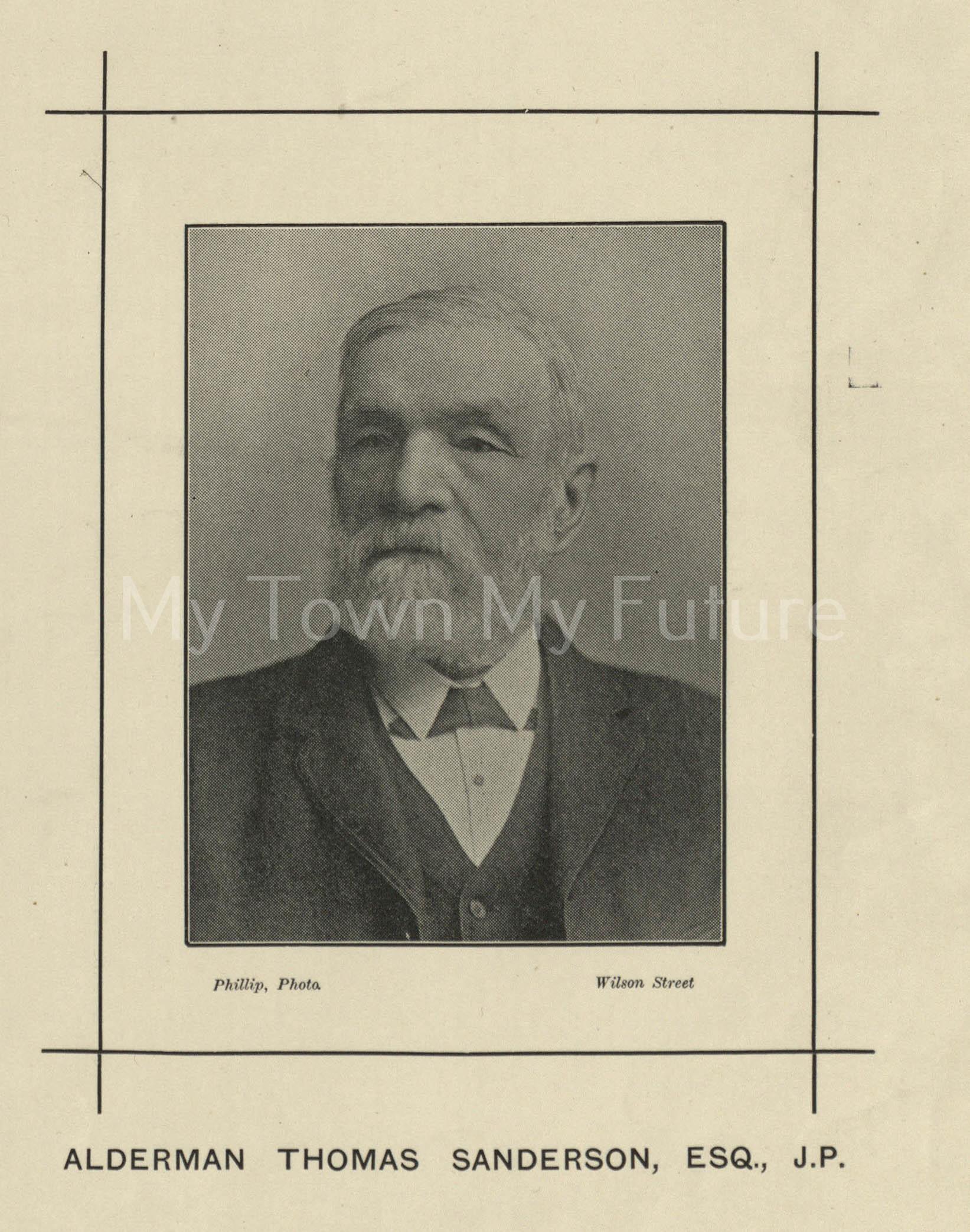 Alderman Thomas Sanderson
