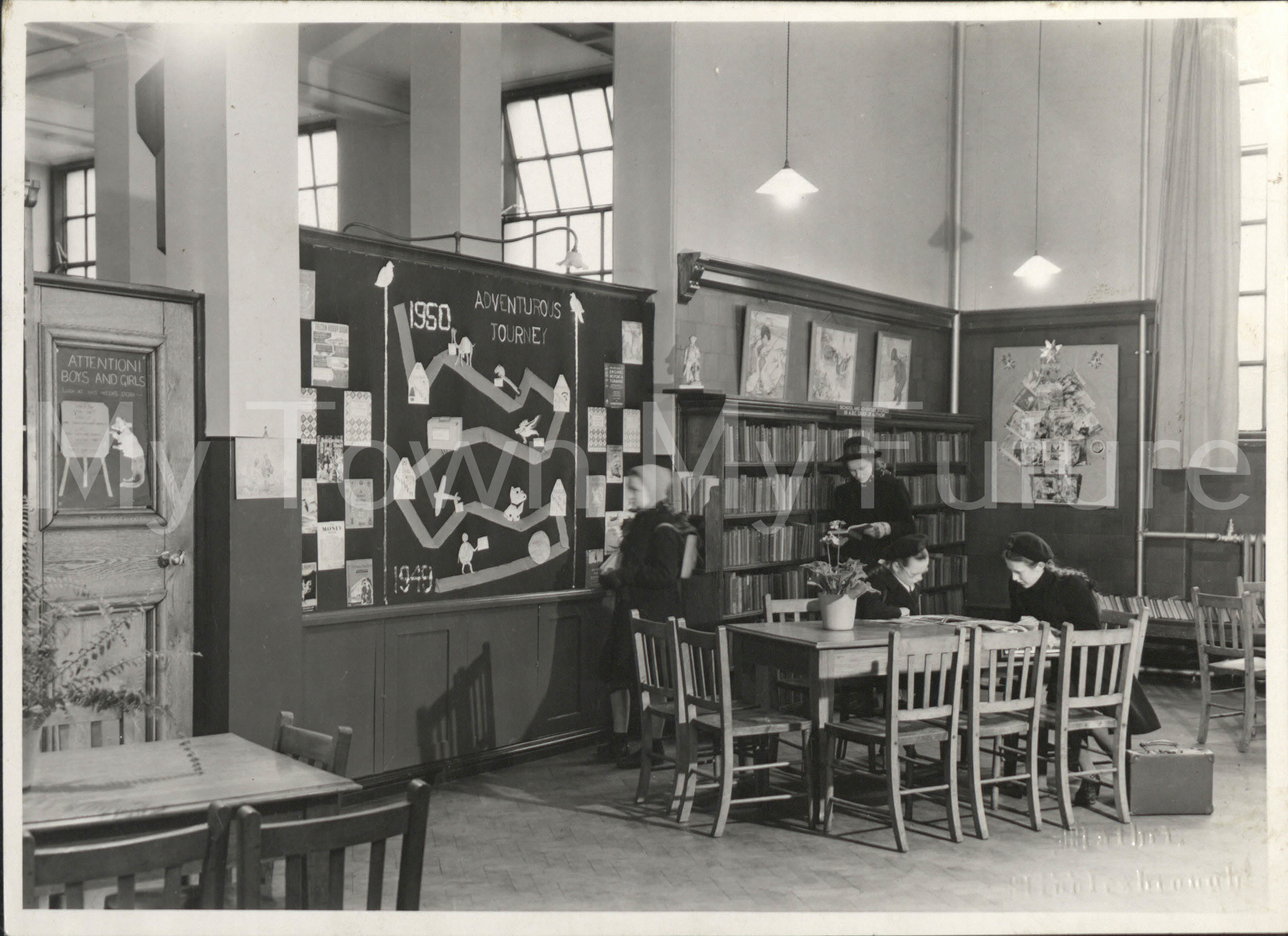 Central Library 1950s.