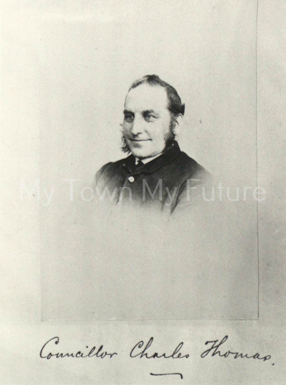 Councilor Charles Thomas